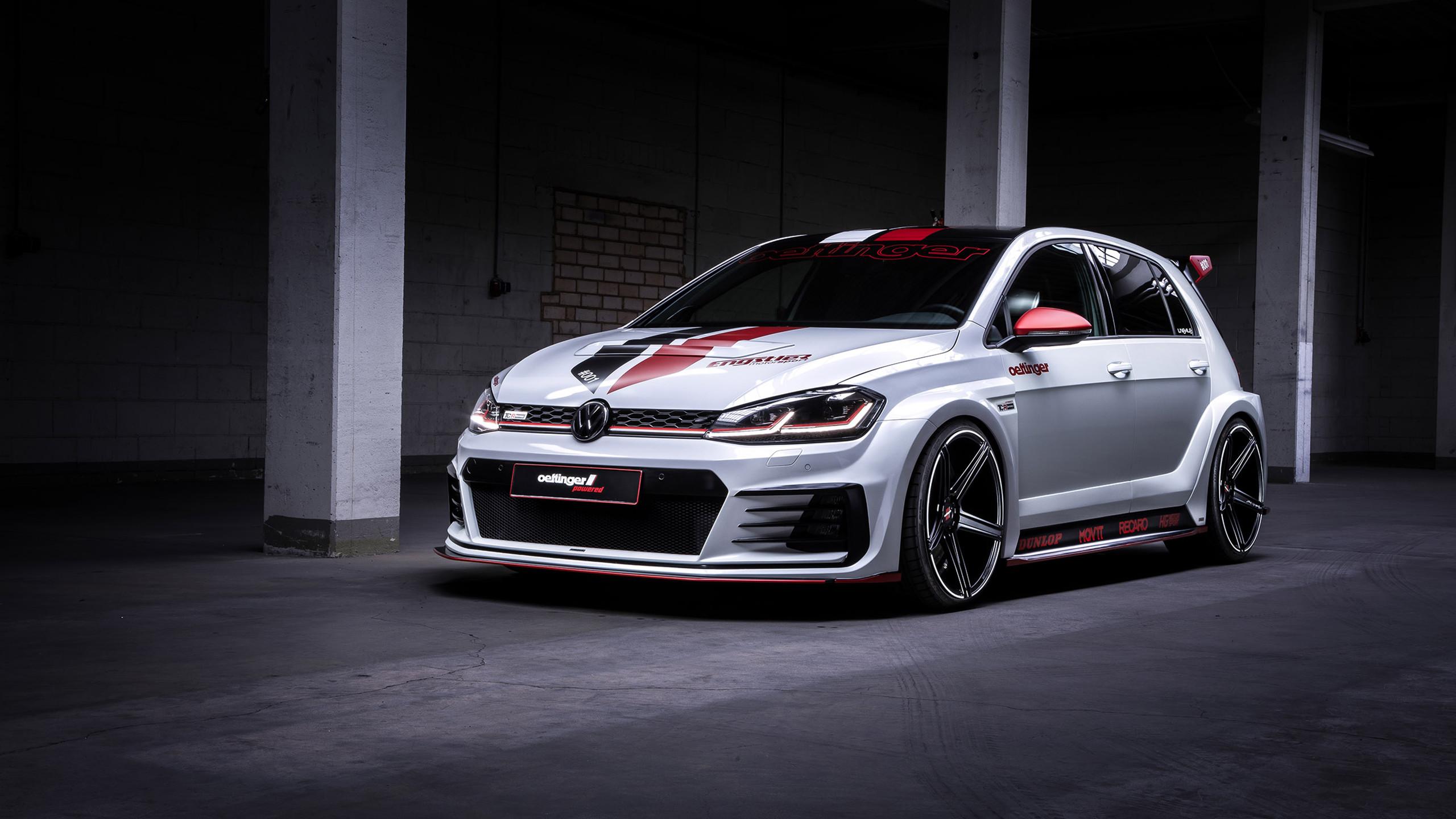 Res: 2560x1440, Oettinger Volkswagen Golf GTI TCR Germany Street 2019 Wallpaper