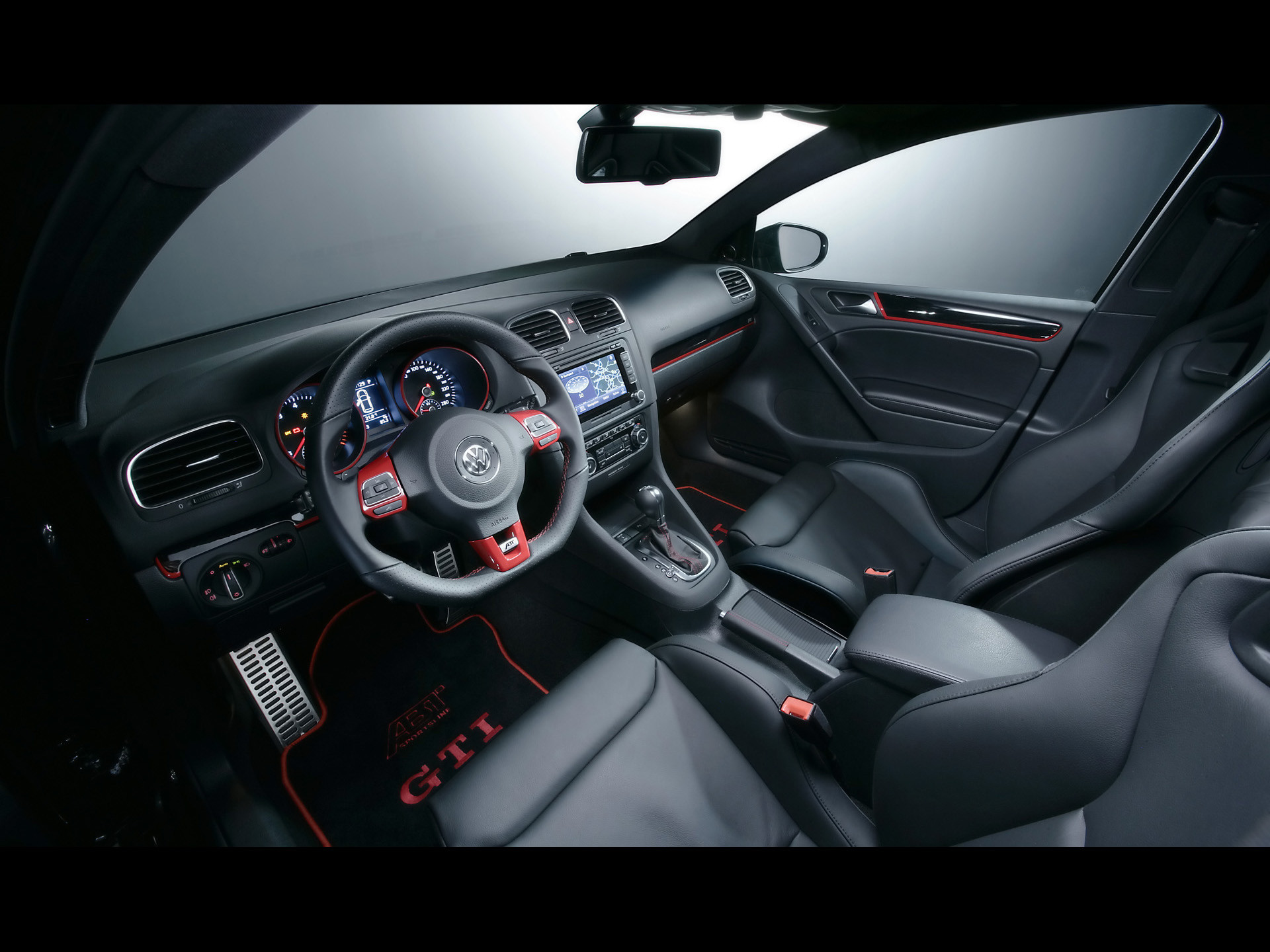 Res: 1920x1440,  VW GTI ABT interior wallpapers | VW GTI ABT interior stock photos  · Download · vw gti wallpaper ...