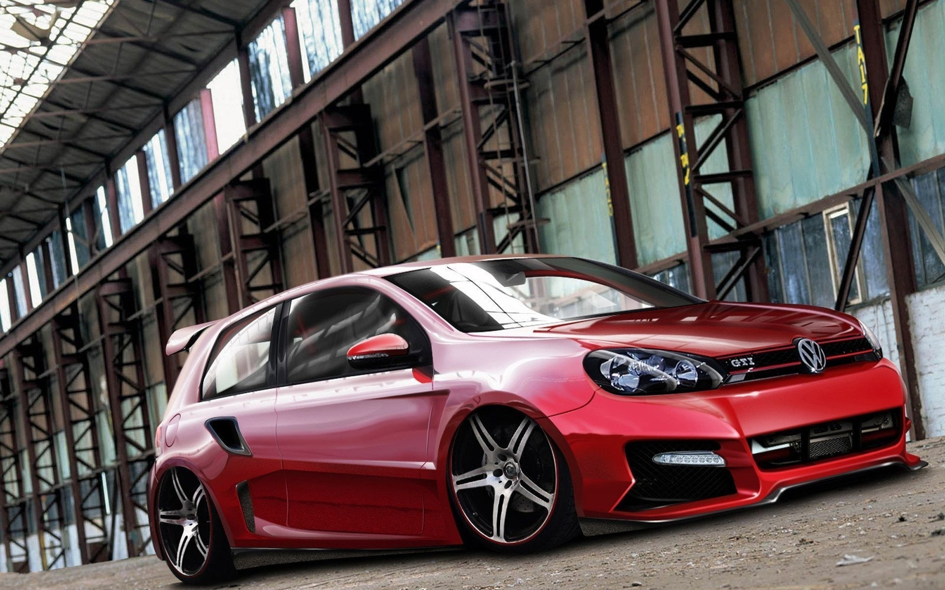 Res: 1920x1200, Cars Tuning Volkswagen Golf Gti Wallpapers Vw