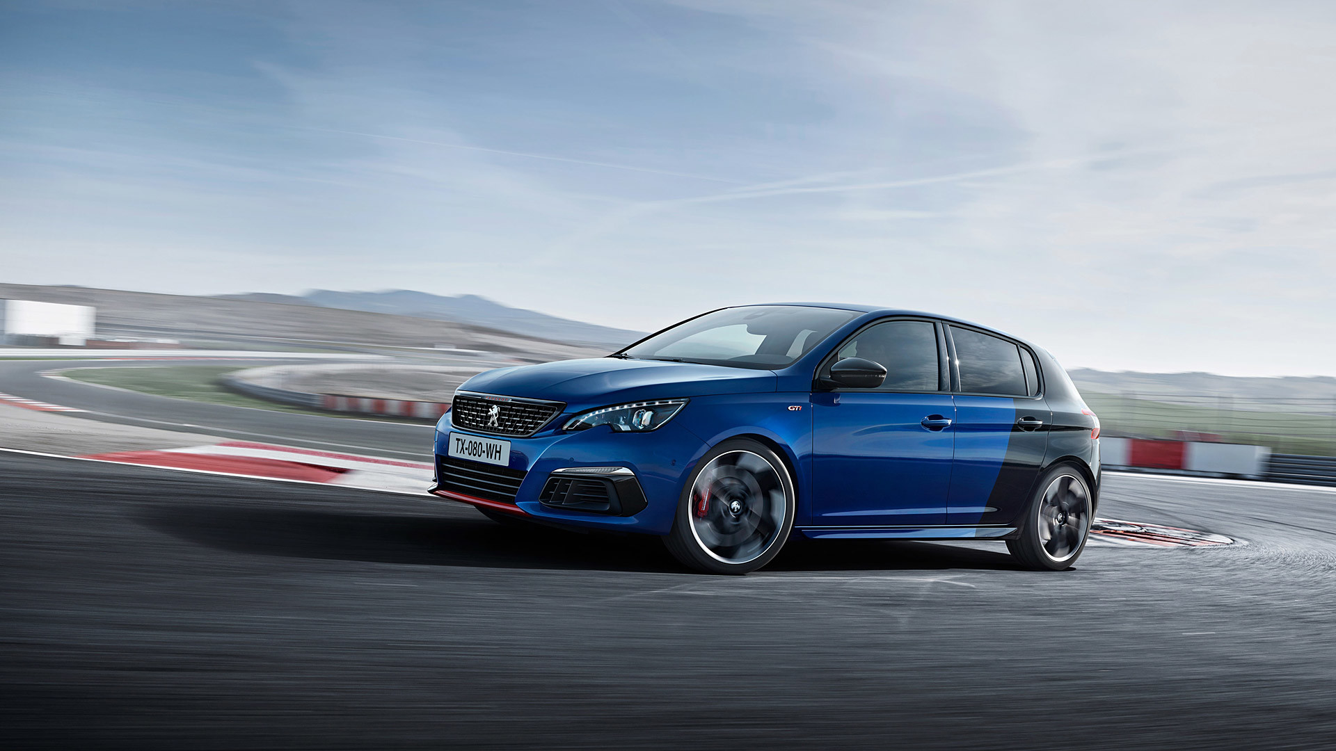 Res: 1920x1080, 2018 Peugeot 308 GTi picture.