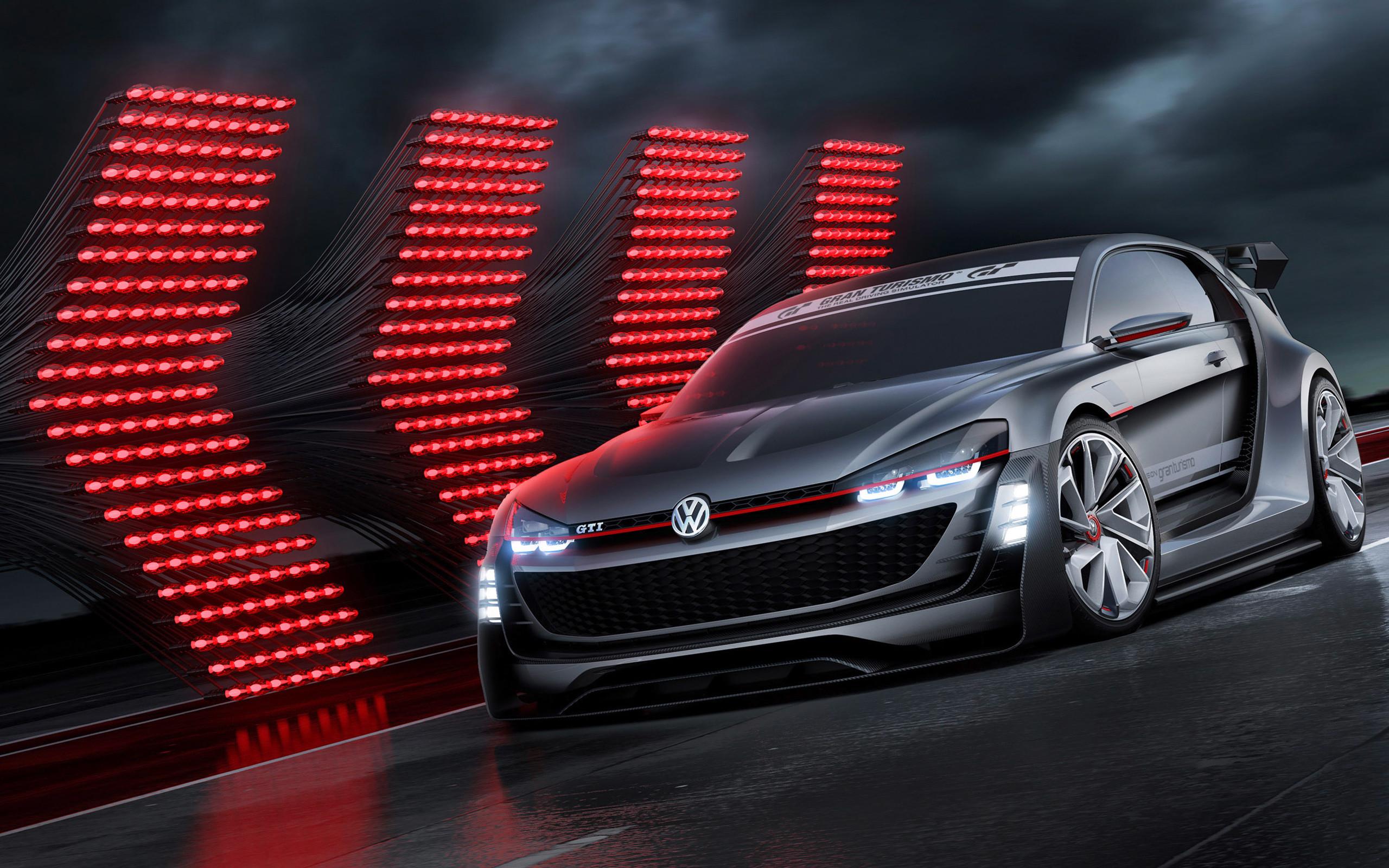 Res: 2560x1600,  2015 Volkswagen GTi Supersport Vision Gran Turismo Concept .
