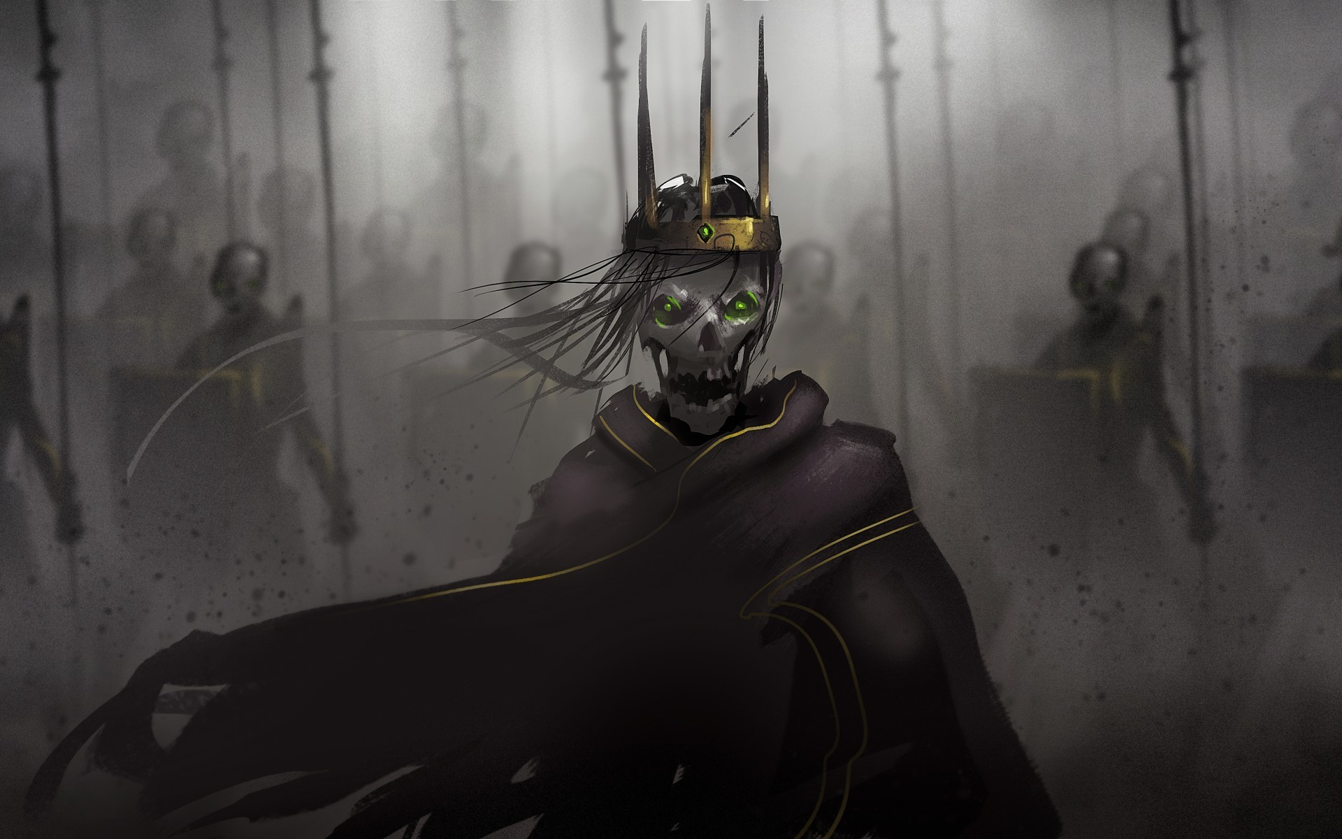 Res: 1920x1200, Undead army king artwork - Image #1428 - Licence: Free for Personal Use -