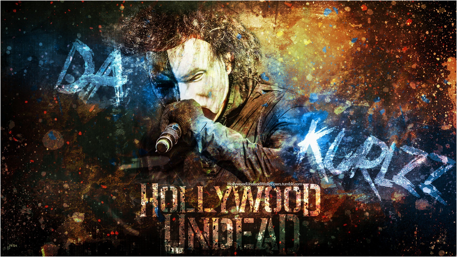 Res: 1920x1080, Hollywood Undead Wallpaper Lovely Hollywood Undead Da Kurlzz Wallpaper 2016  by Emirulug On