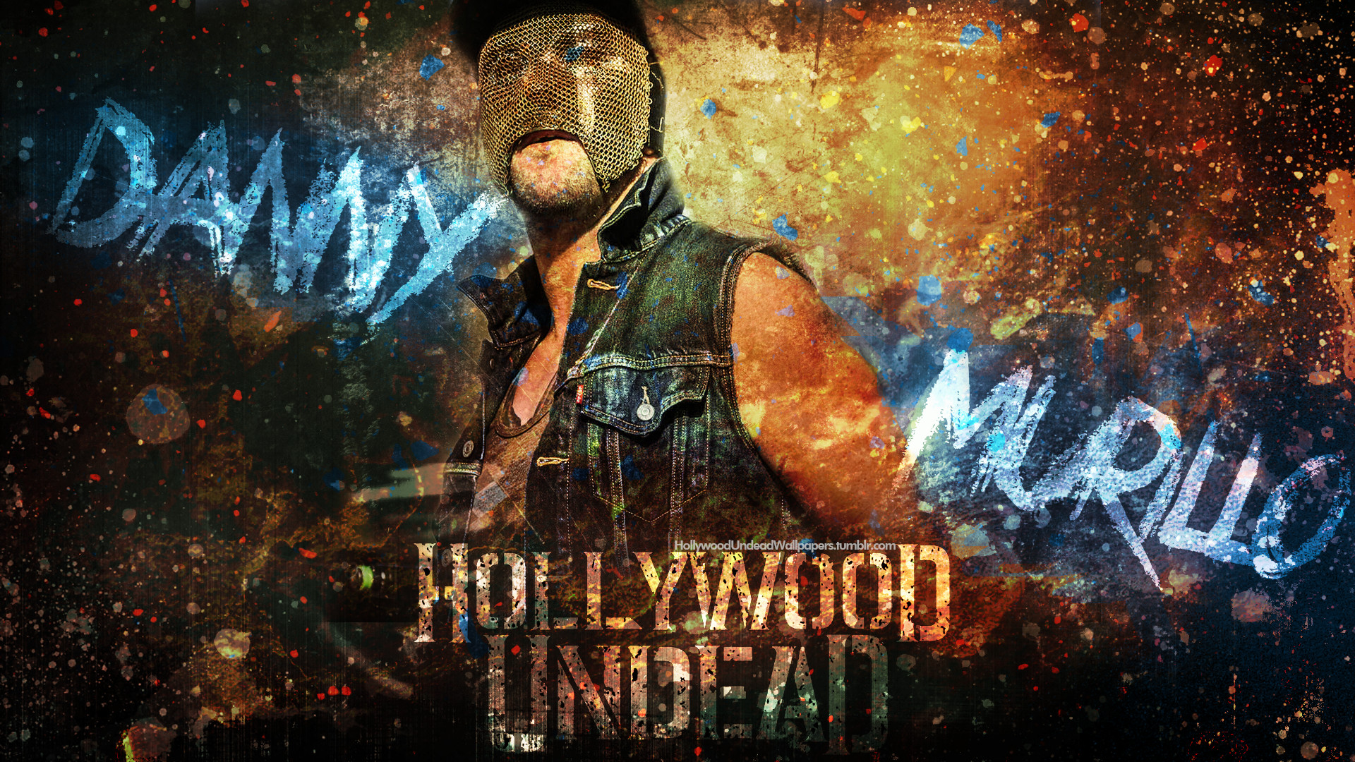 Res: 1920x1080, ... Hollywood Undead - Danny Wallpaper 2016 by emirulug