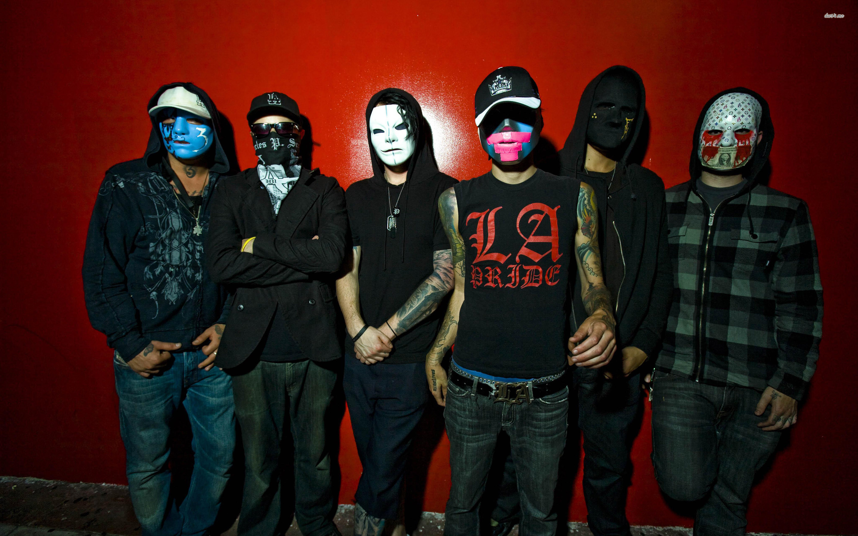 Res: 2880x1800, ... Hollywood Undead wallpaper  ...