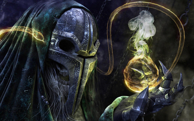 Res: 2880x1800, Warcraft 3 Undead wallpaper