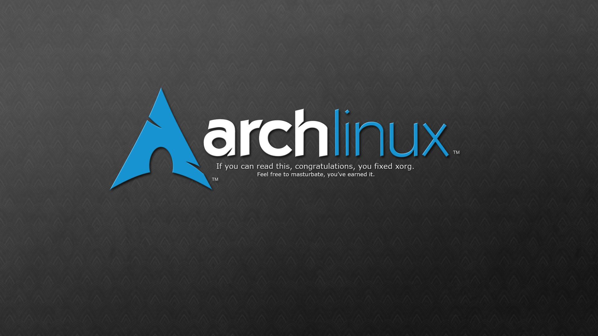 Res: 1920x1080, Arch Linux Desktop Wallpaper.