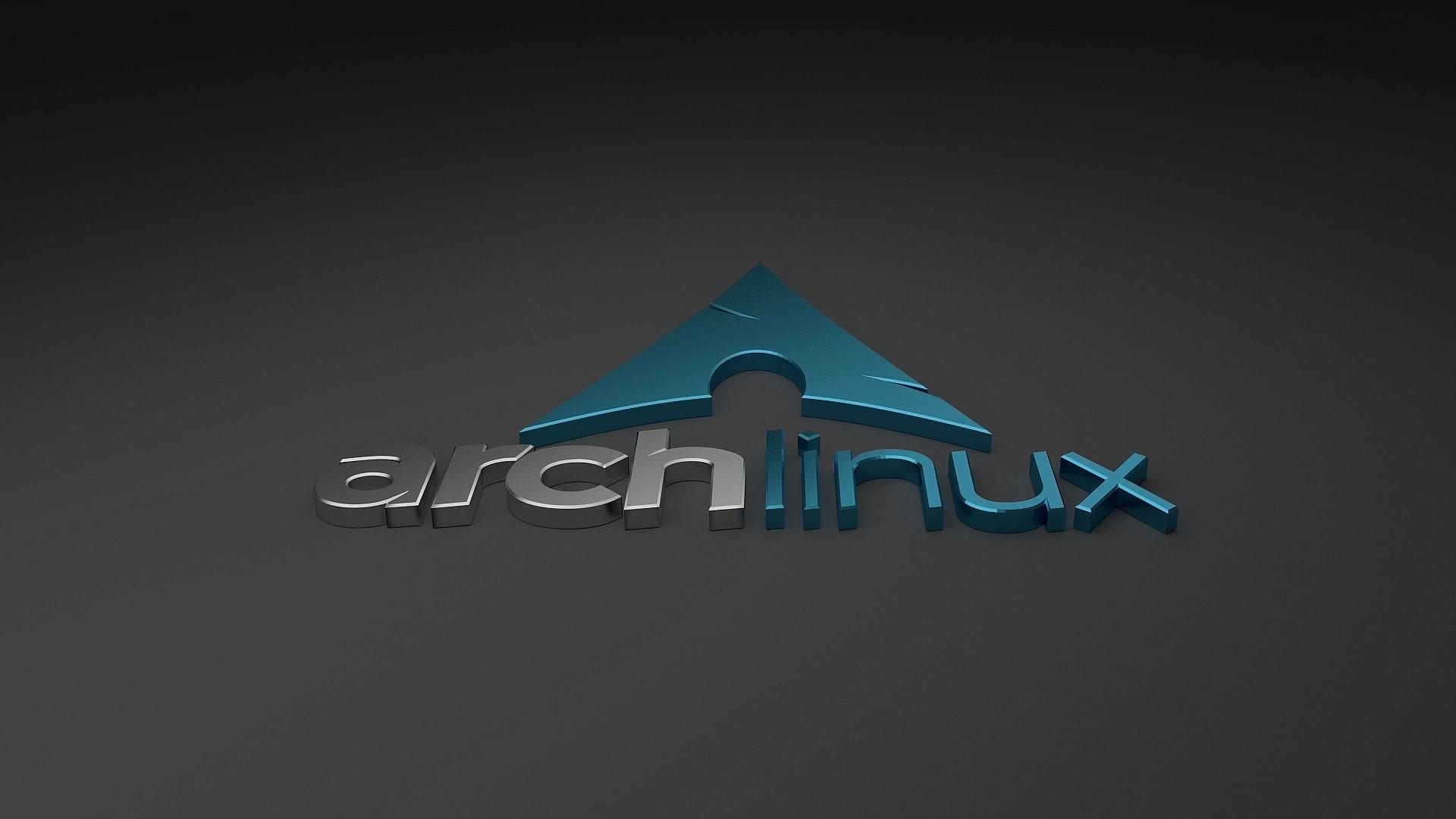 Res: 1920x1080, 3D Arch Linux Logo HD Wallpaper (px)