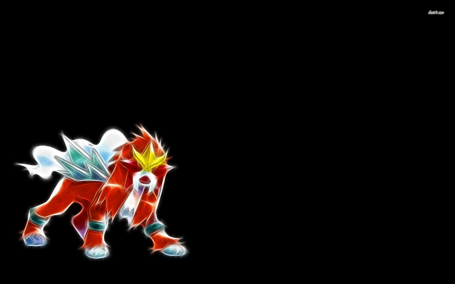 Res: 1920x1200, ... Entei - Pokemon wallpaper  ...