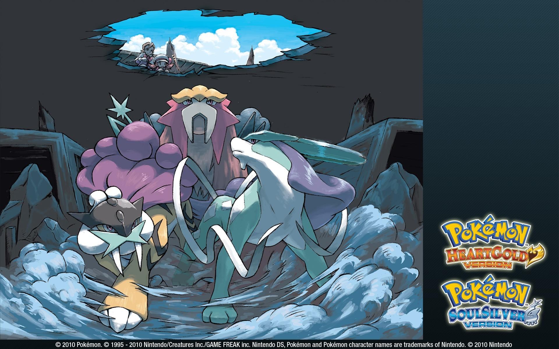 Res: 1920x1200, Pokemon Entei Suicune Raikou wallpaper |  | 193608 | WallpaperUP