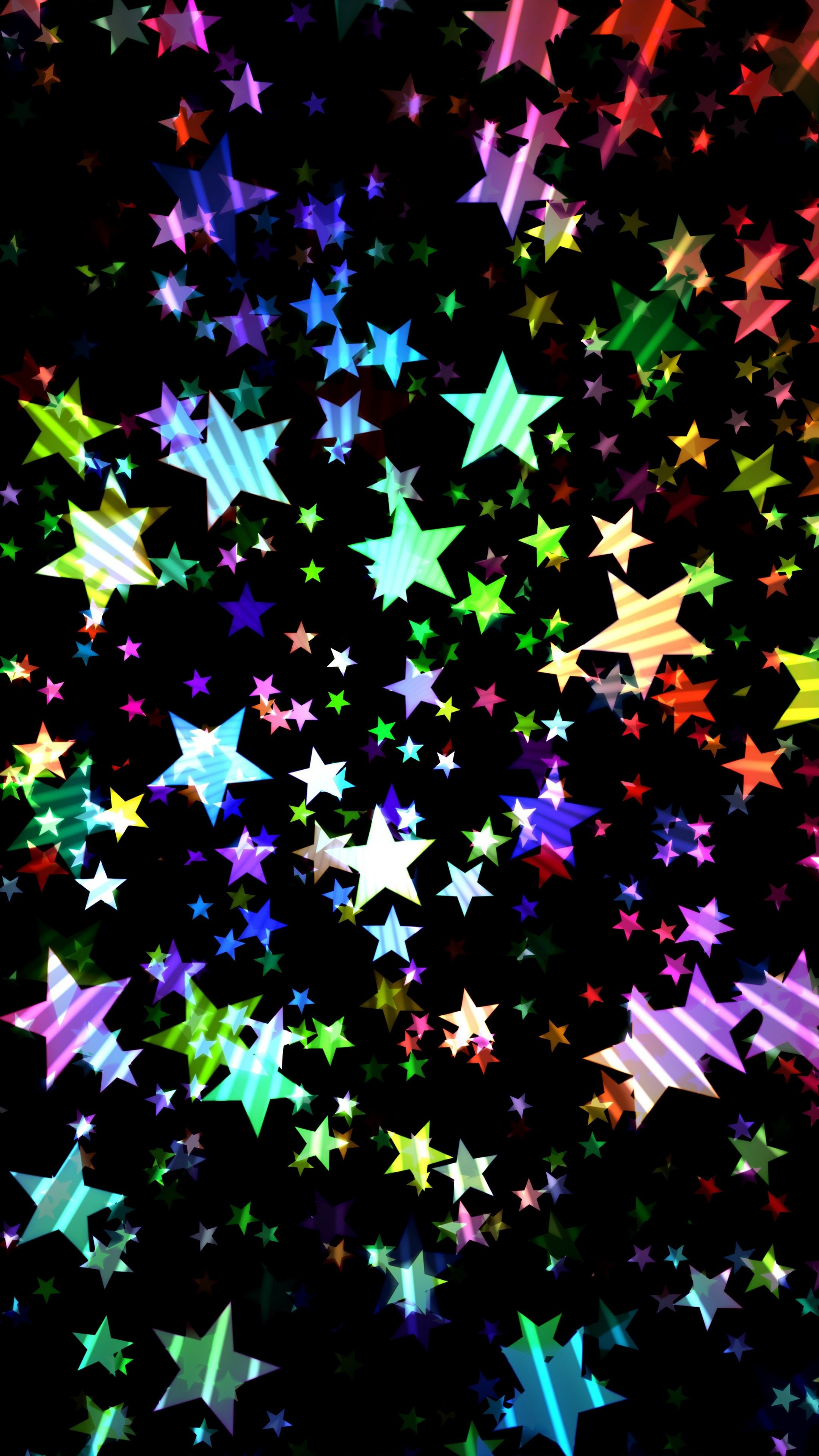 Res: 2160x3840, #Abstract #stars #colorful #shiny #bright #wallpapers hd 4k background for  android :)