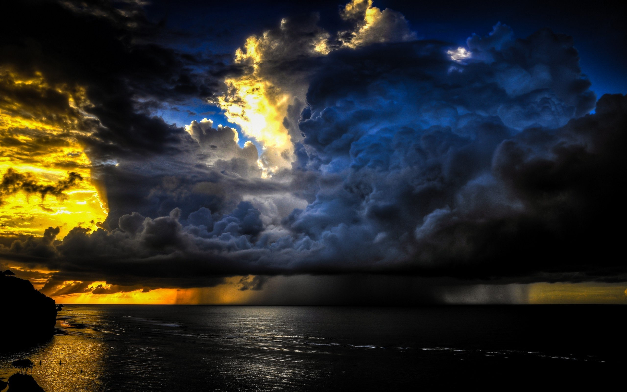 Res: 2560x1600, HD Wallpaper | Background Image ID:542175.  Earth Storm