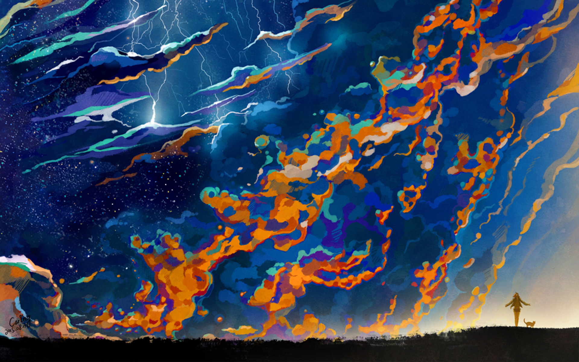 Res: 1920x1200, Image: Lightning & Thunder wallpapers and stock photos. Â«