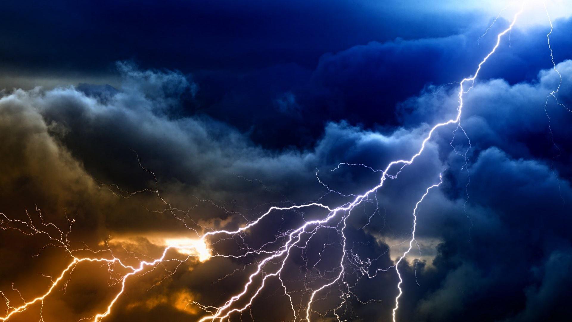 Res: 1920x1080, Lightning Strom