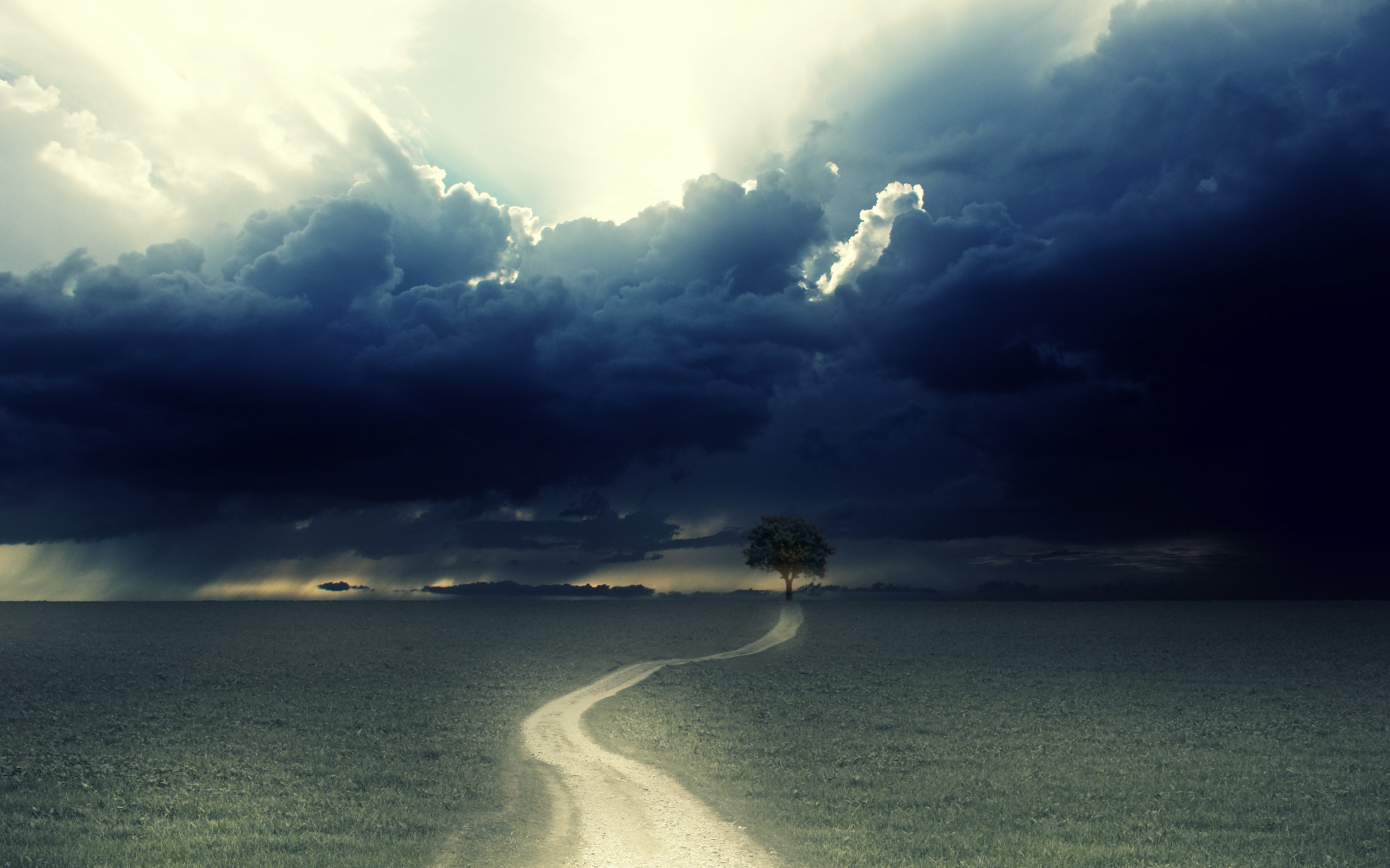 Res: 2560x1600, HD Wallpaper | Background Image ID:105701.  Earth Storm
