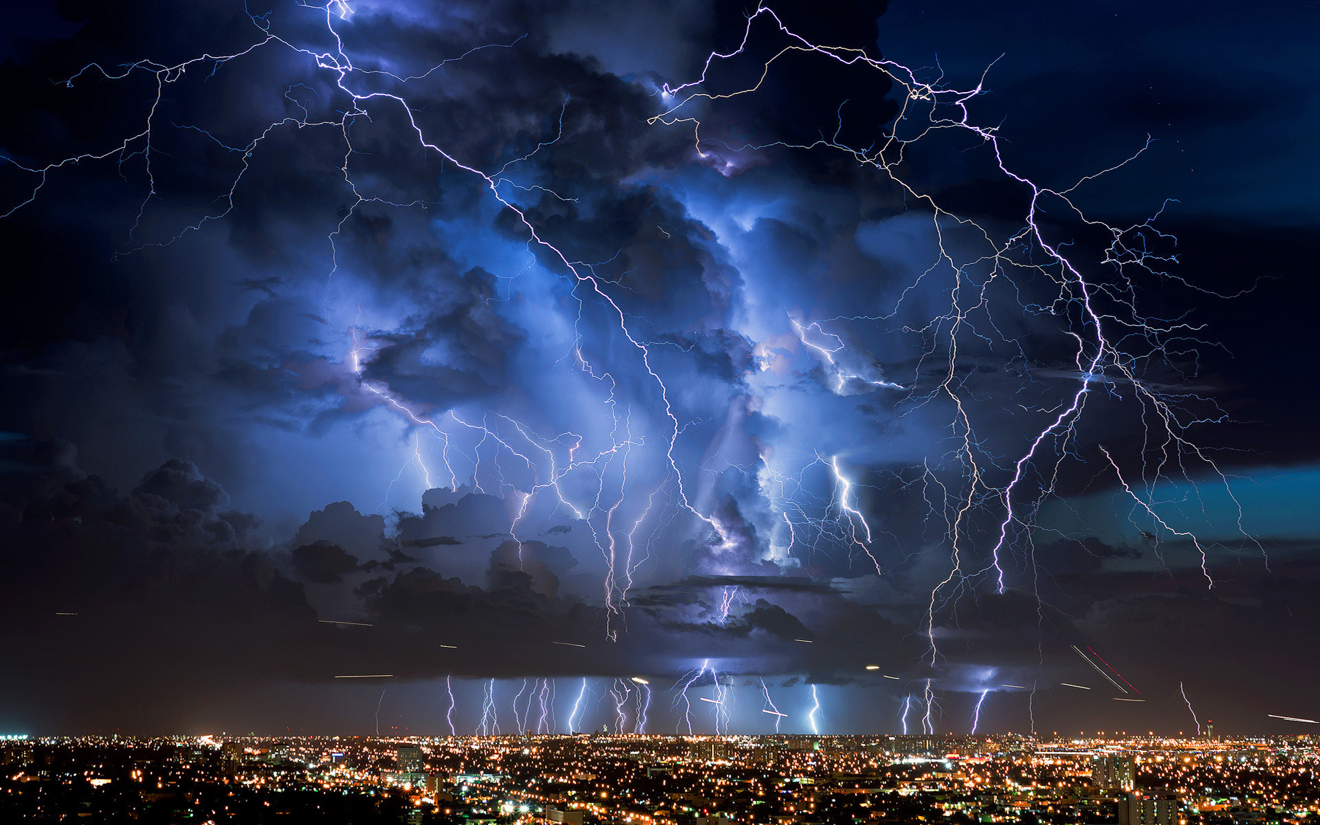 Res: 1920x1200, Lightning Storm Wallpapers HD.