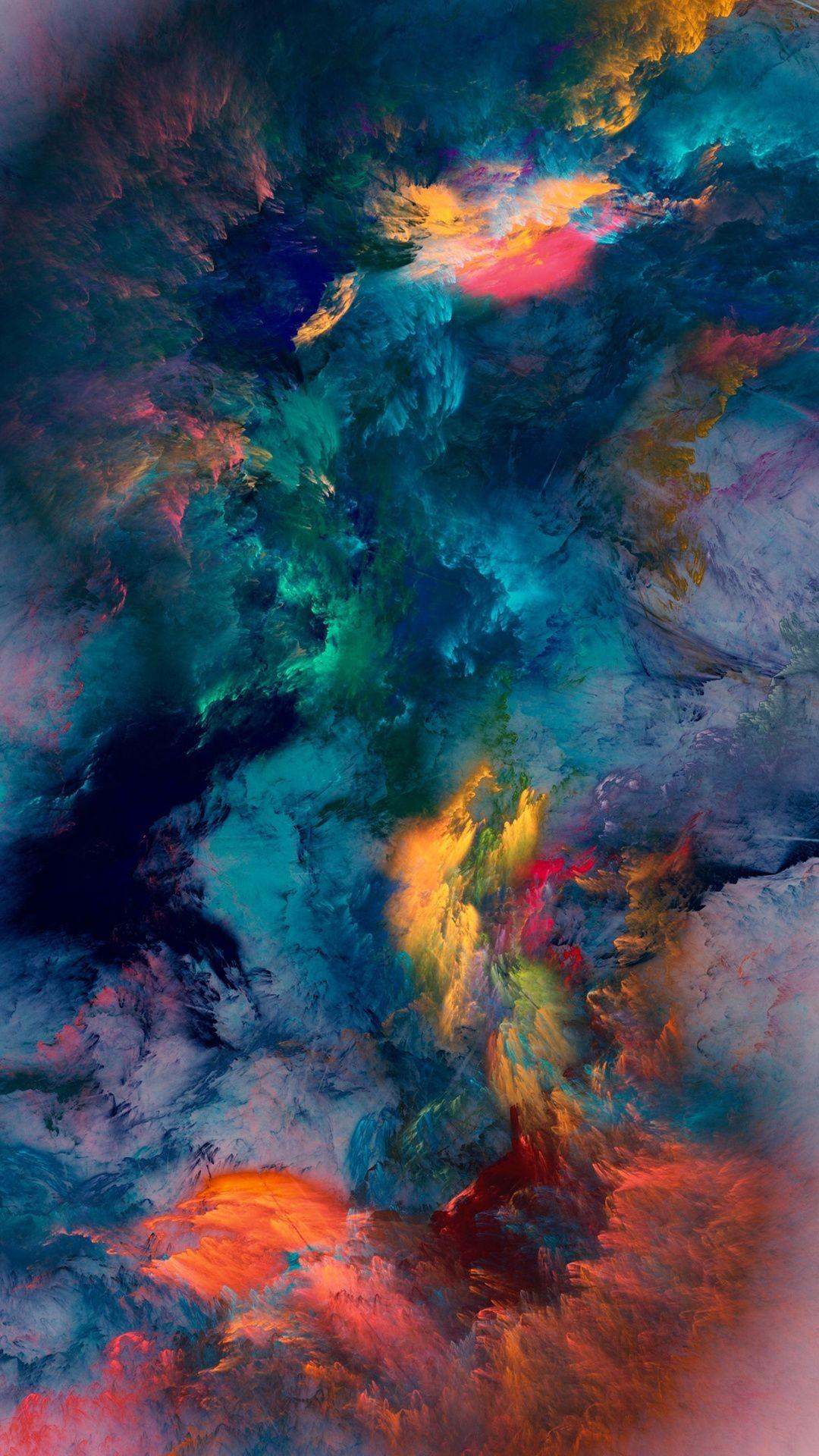 Res: 1080x1920, Colour Storm Wallpaper
