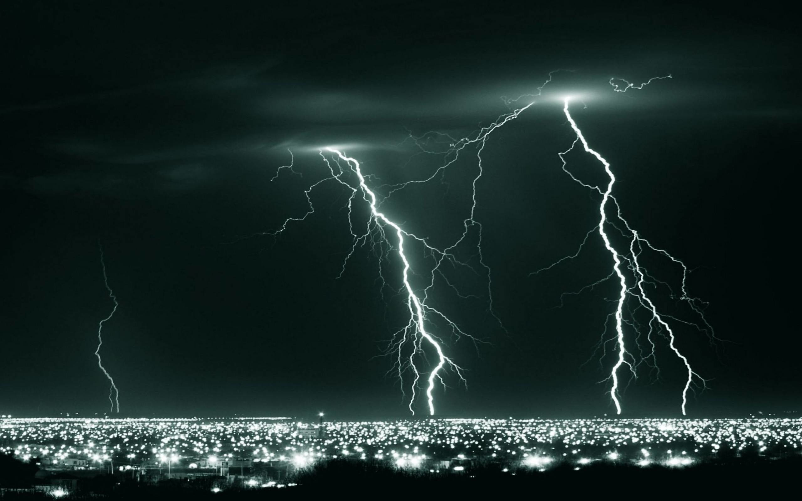 Res: 2560x1600,  Wallpapers For > Lightning Storm Wallpaper Hd
