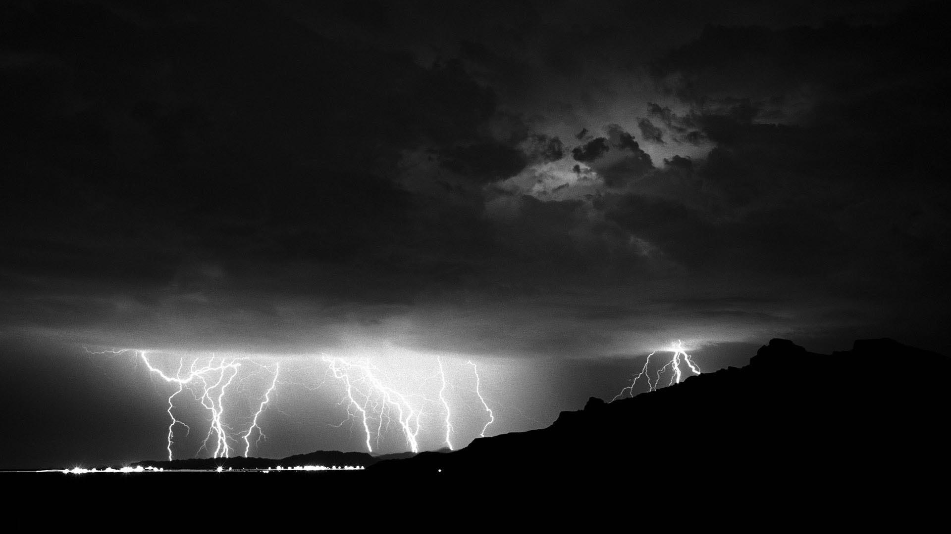 Res: 1920x1080, Summer Lightning Storm, Nevada HD Wallpaper. « »