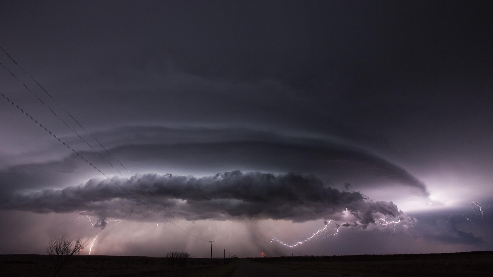 Res: 1920x1080, Lightning Storm Clouds Wallpaper
