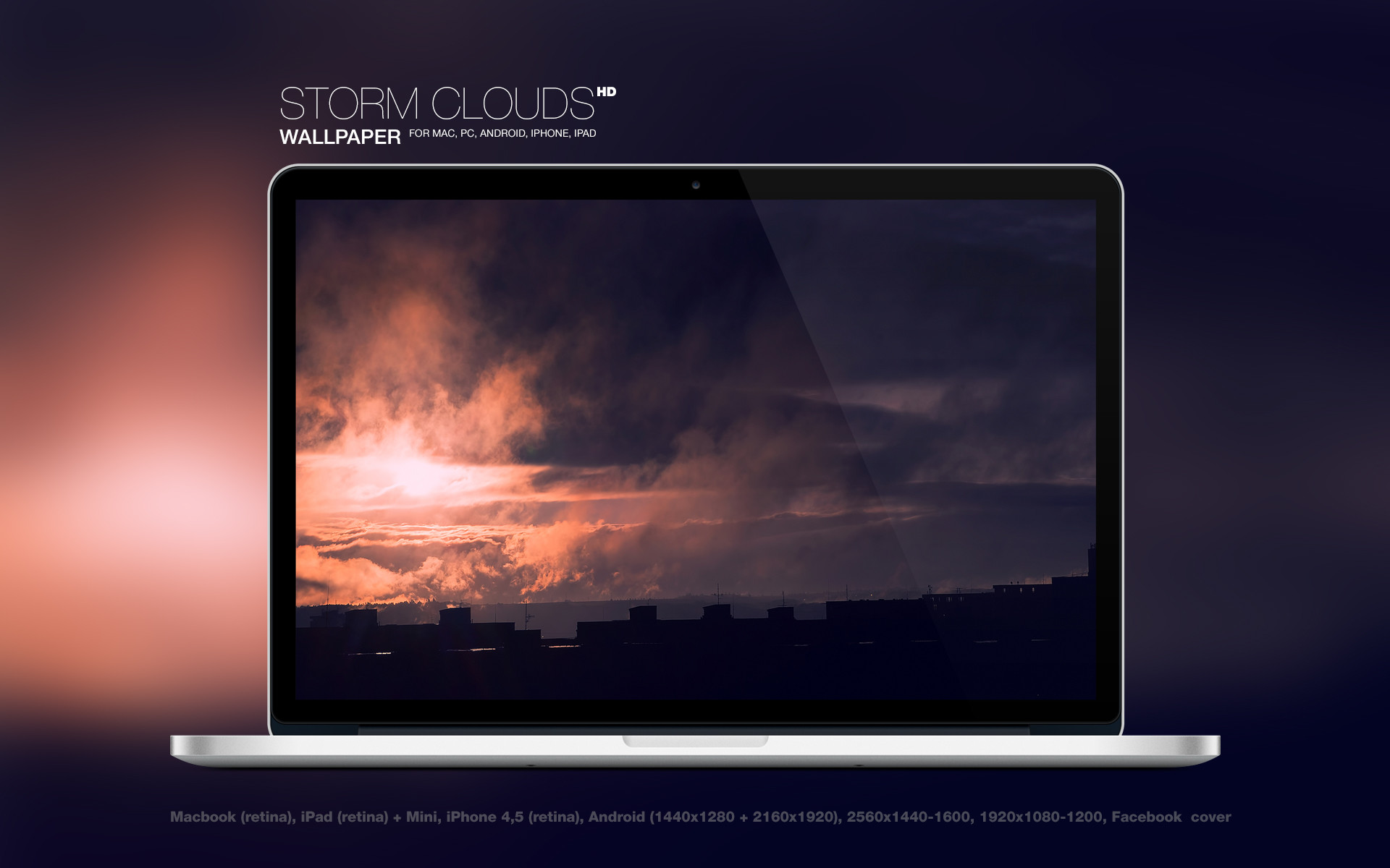 Res: 1920x1200, Storm Clouds HD Wallpaper by Martz90 Storm Clouds HD Wallpaper by Martz90