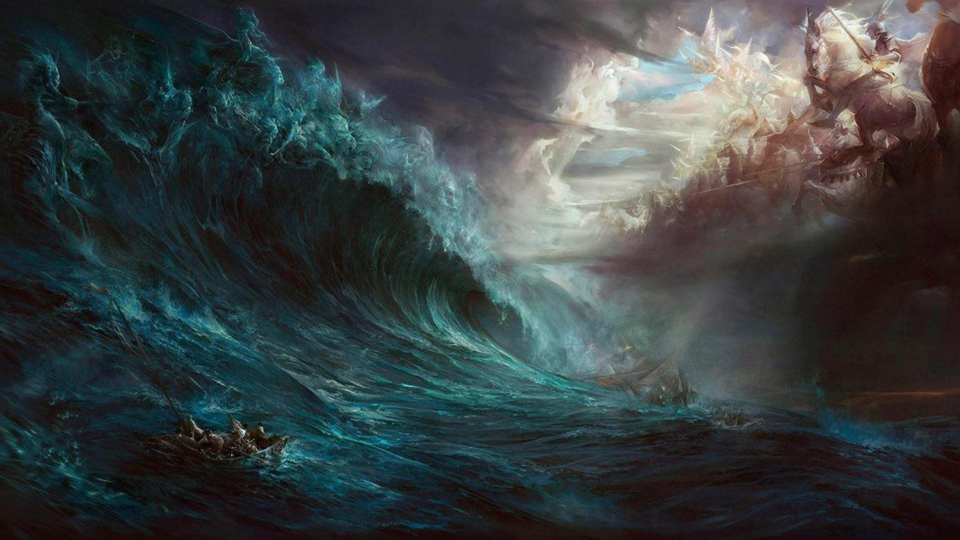 Res: 1920x1080, Ocean Storm Wallpaper Desktop Background