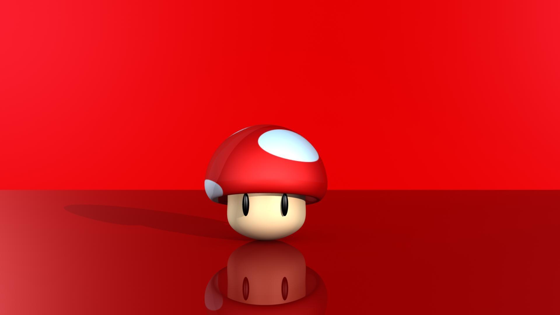 Res: 1920x1080, Mario Mushroom Wallpaper