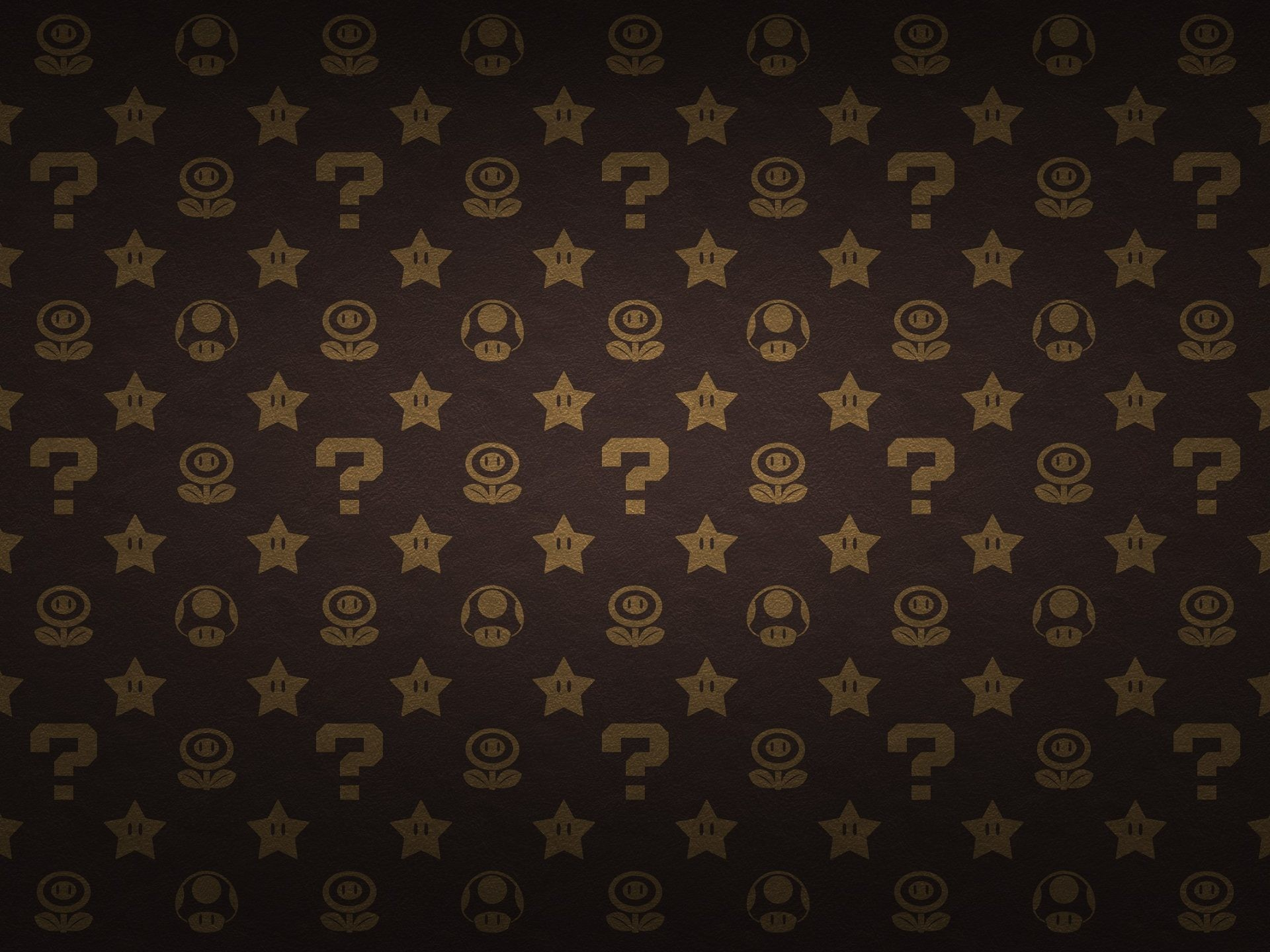 Res: 1920x1440, Flowers Stars Power Mario Bros Mushrooms High Resolution Desktop Wallpaper.  Â«Â«