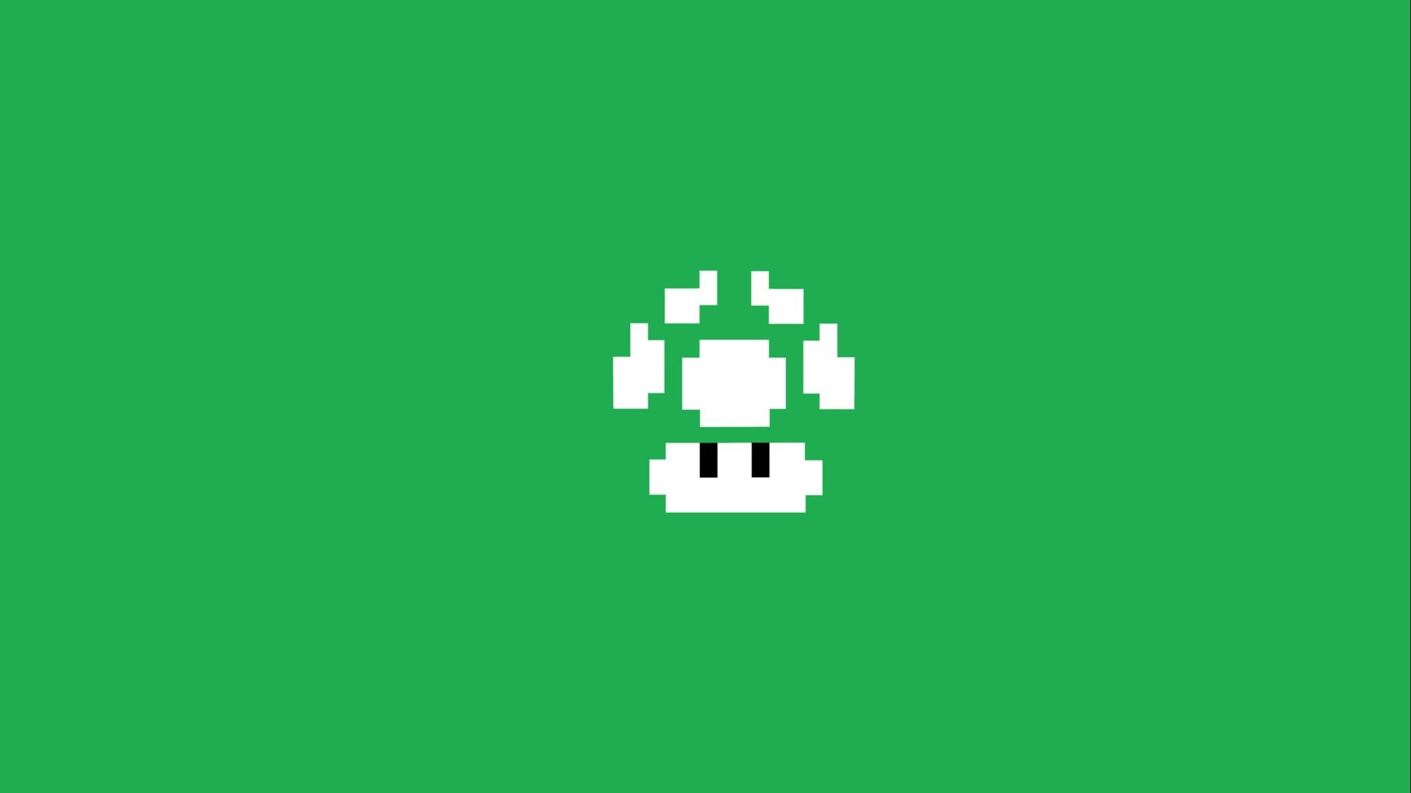 Res: 2048x1152, Download Super Mario Bros Minimalism HD Wallpaper In  Screen  Resolution