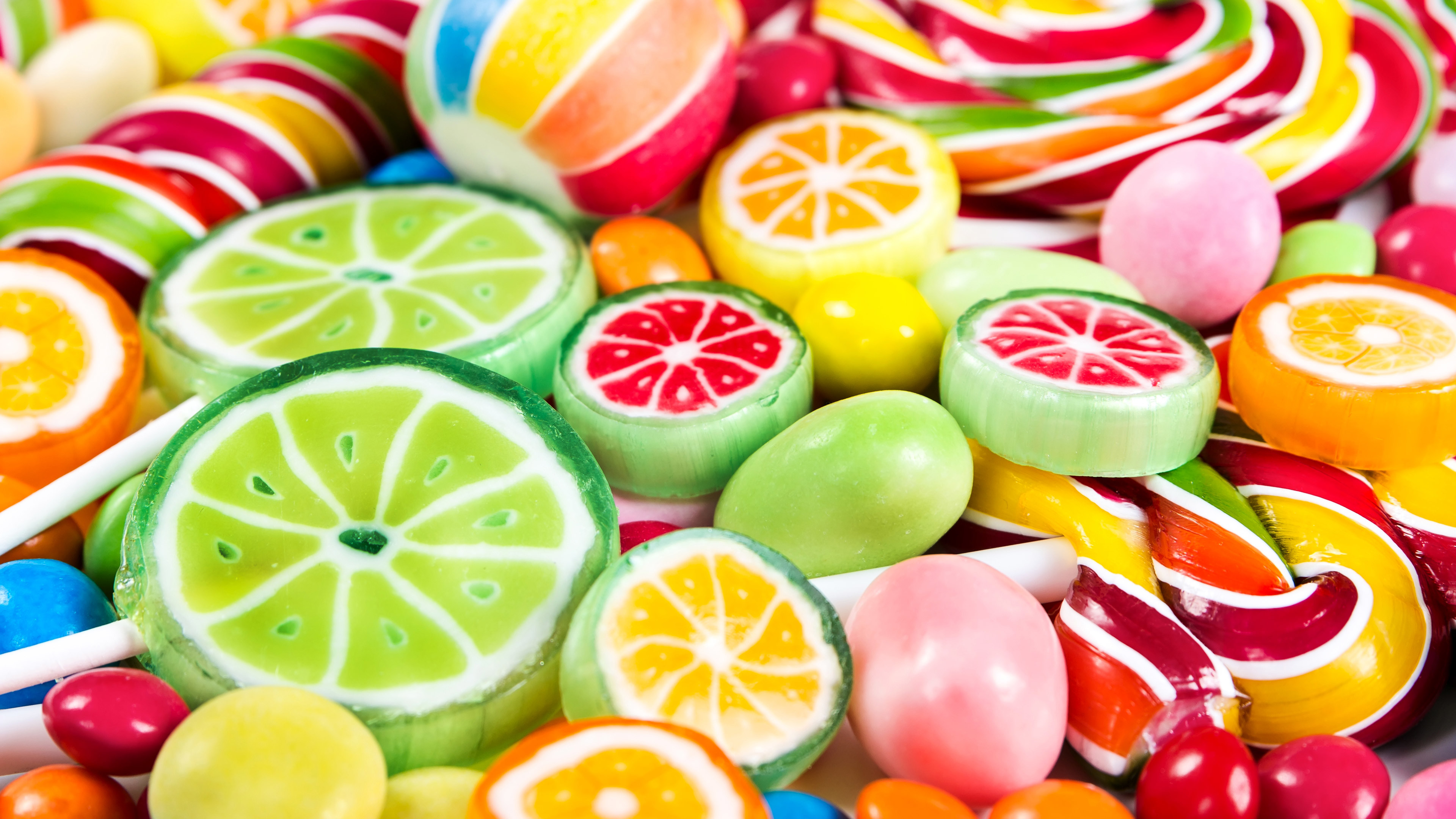 Res: 3840x2160, Colorful Candy (Laptop Full HD 1080P)