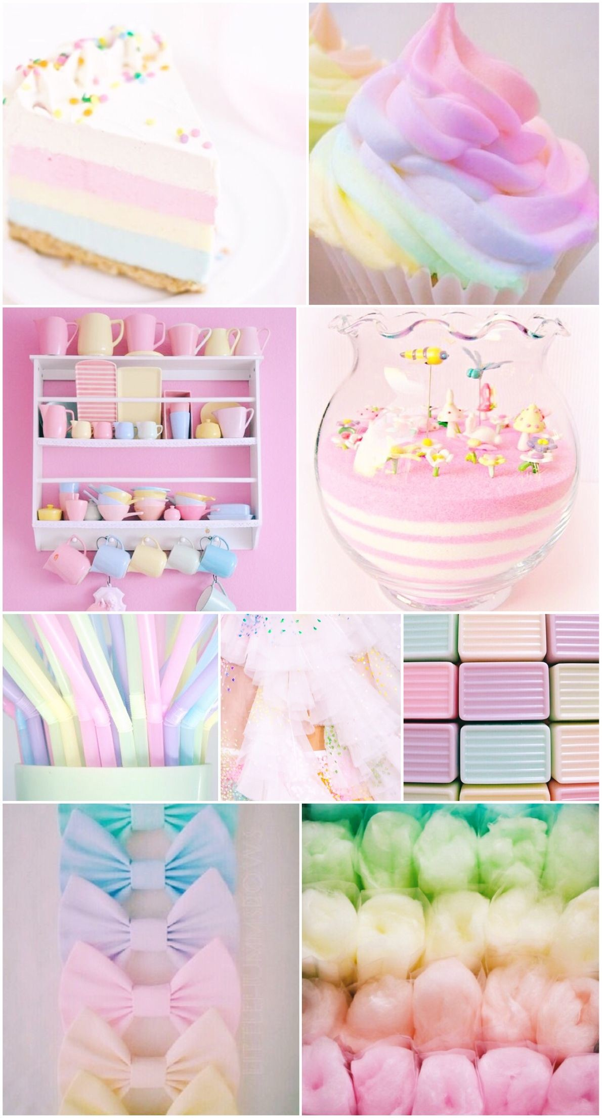 Res: 1190x2208, wallpaper, pastel, rainbow, background, iPhone, pretty, candy