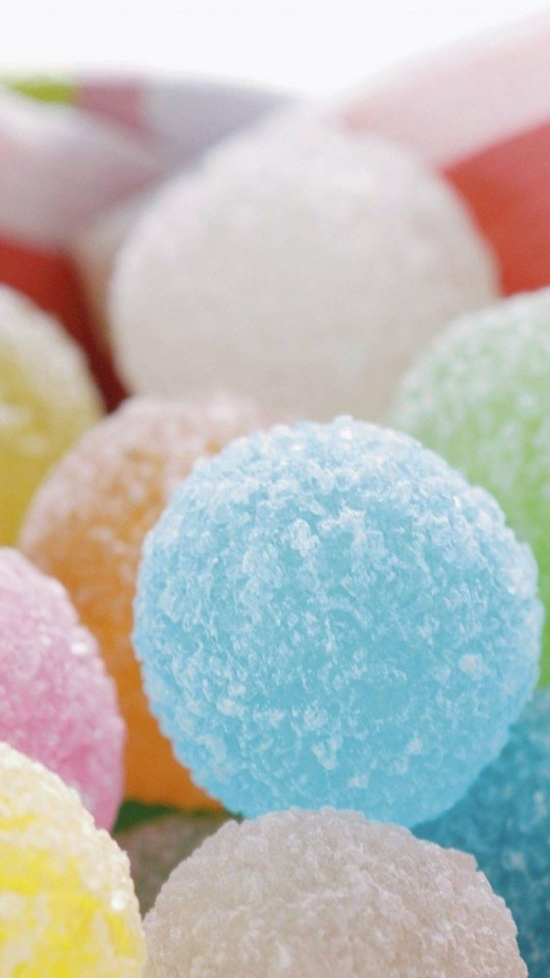 Res: 1080x1920, Pastel Candy, Colorful Candy, Wallpaper Iphone Cute, Food Wallpaper,  Wallpaper For Your