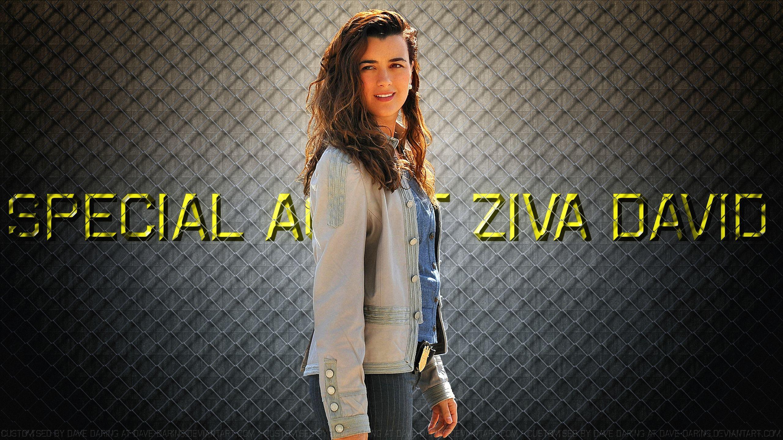 Res: 2560x1440, ... Cote De Pablo Special Agent Ziva David VII by Dave-Daring