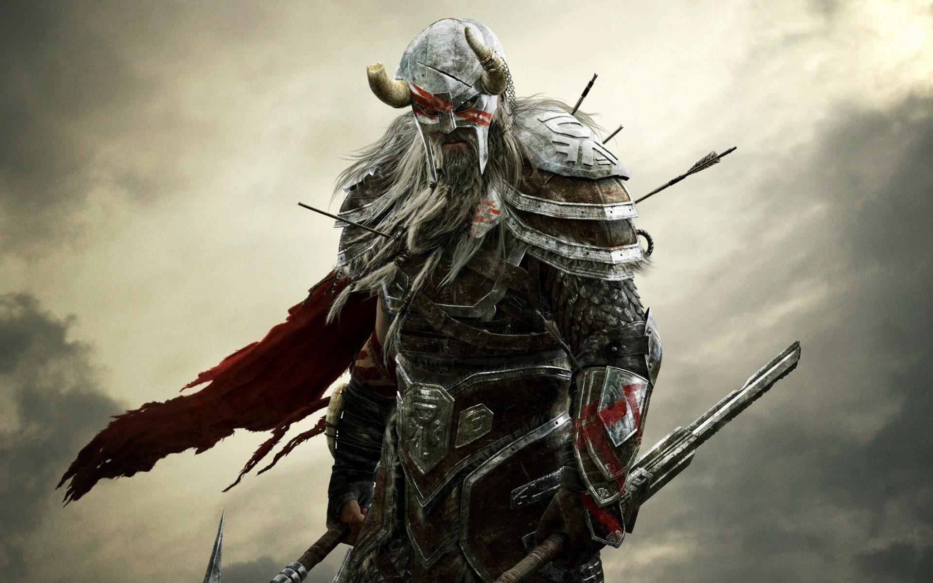 Res: 1920x1200,  Fantasy Warrior Wallpapers (72+ images) · Download · viking warrior  wallpaper ...