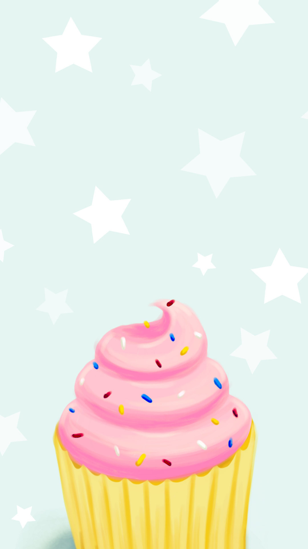 Res: 1080x1920, Res: 2048x1152, Cute Cupcake Wallpapers