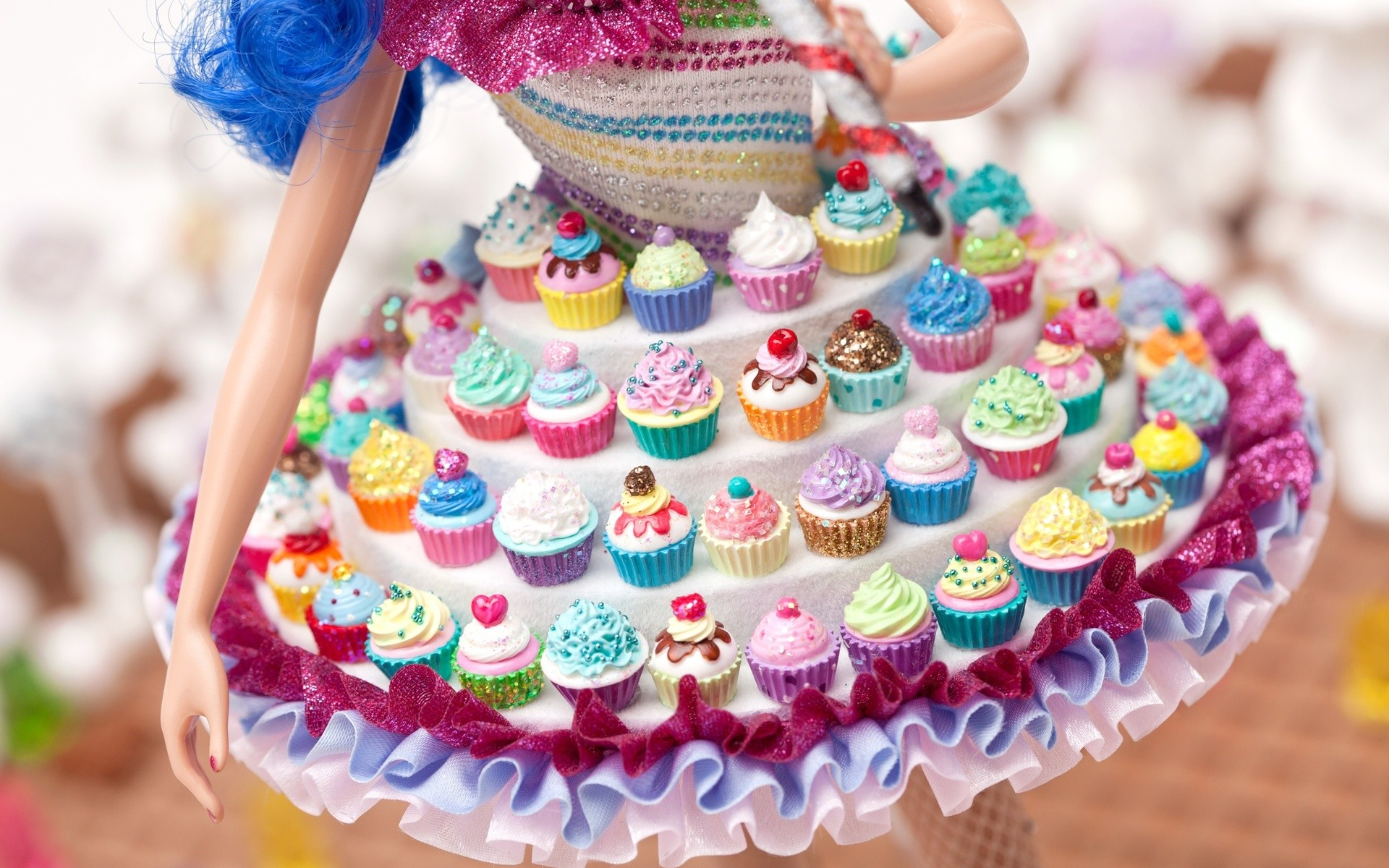 Res: 1920x1200, Image: Cup Cake Dress Doll wallpapers and stock photos. Â«