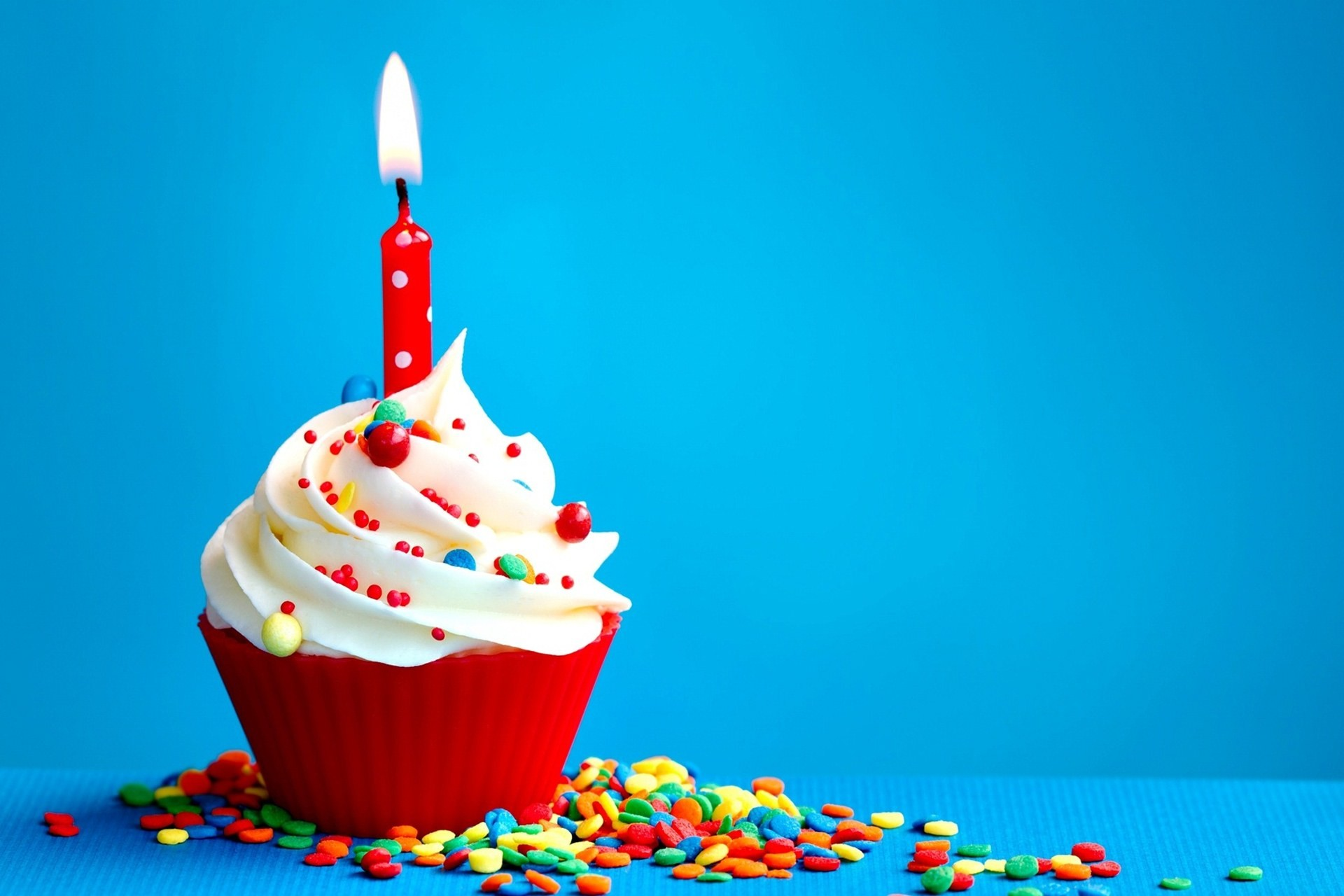 Res: 1920x1280, Happy Birthday Cup Cake #Wallpaper