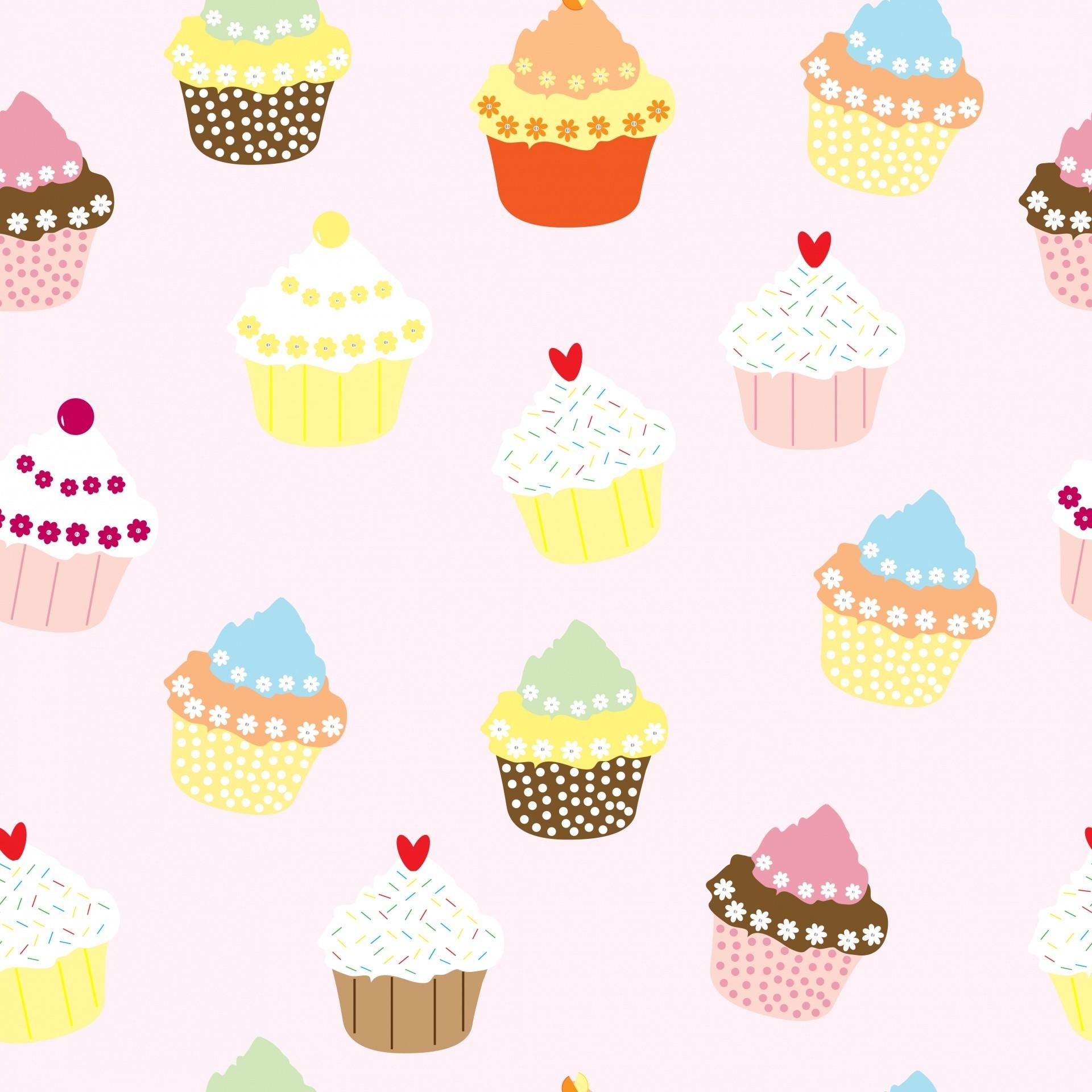Res: 1920x1920, cute cupcake wallpaper #481115