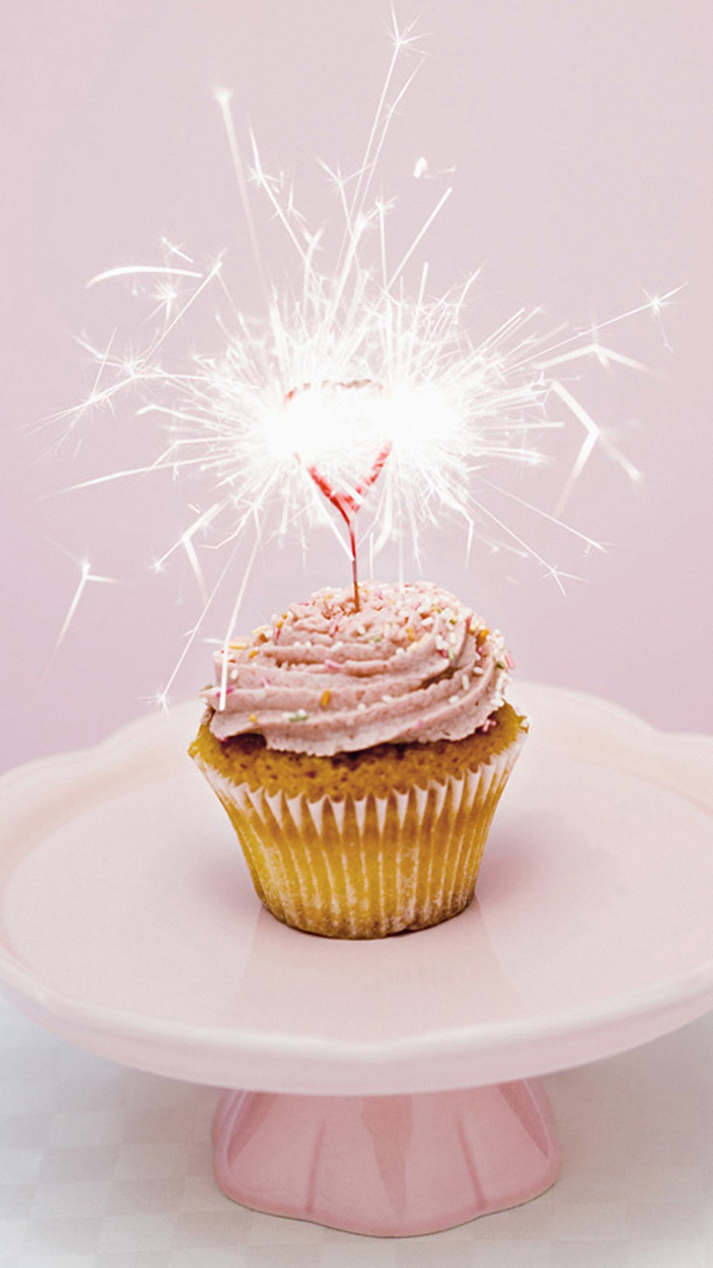 Res: 1440x2560, hd  love firework on cup cake xiaomi mi5 wallpapers