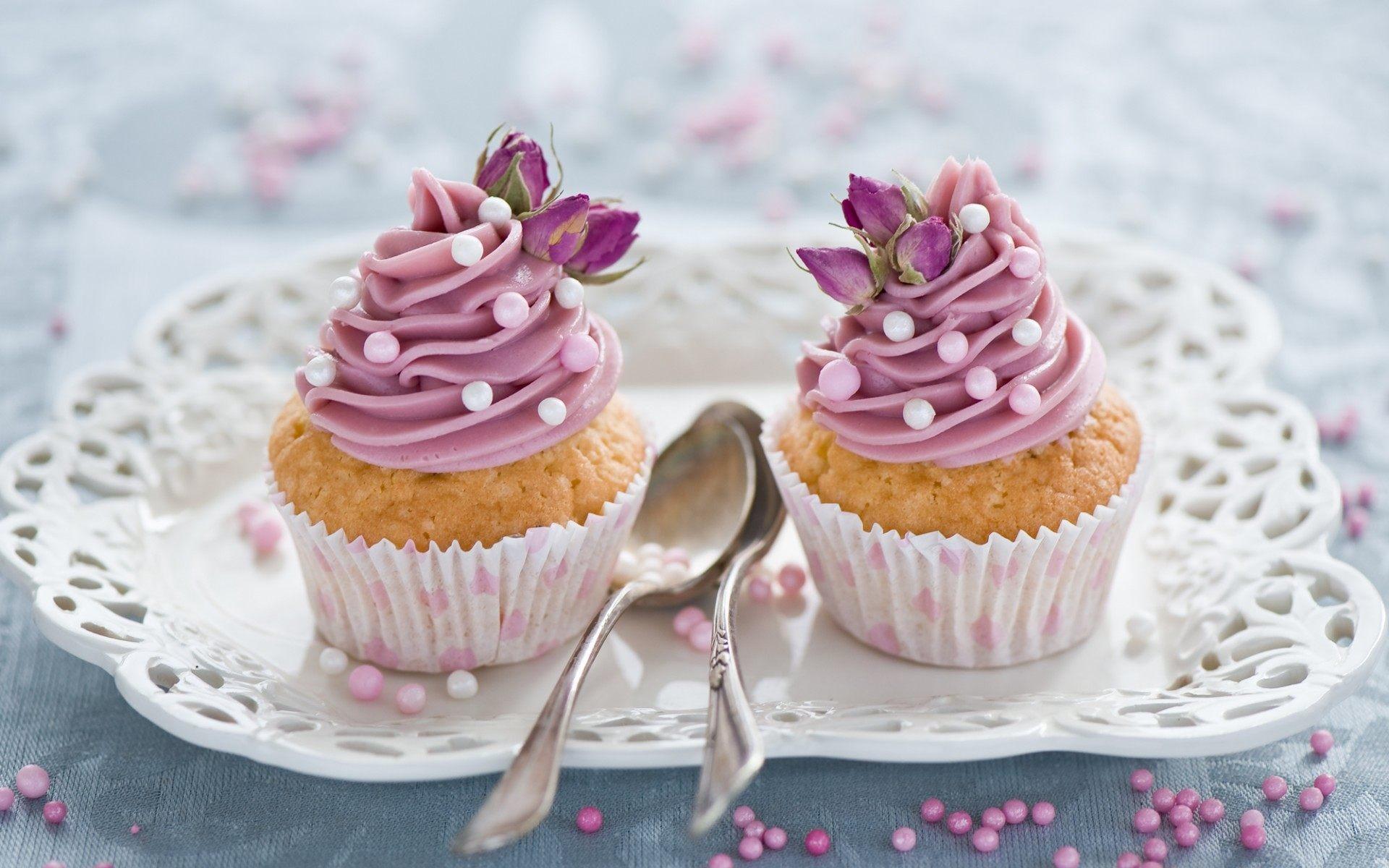 Res: 1920x1200, ...  Rose Cupcakes Wallpaper HD Desktop Background