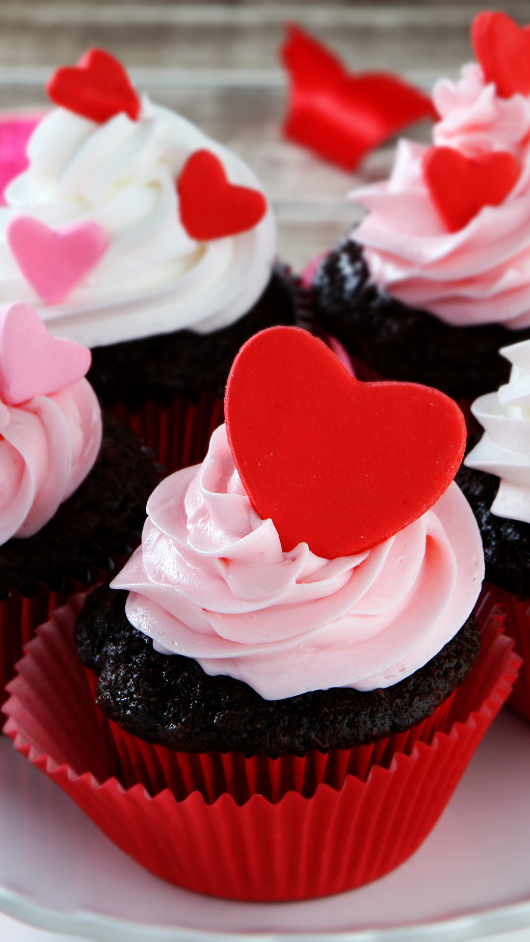 Res: 1080x1920, Wallpapers Heart fairy cake Food Cake Sweets  Cupcake