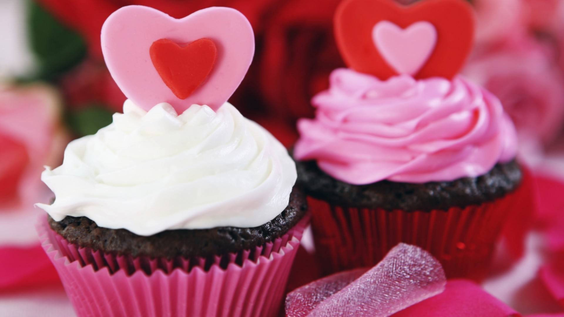 Res: 1920x1080, Download HD Love Cupcake Wallpapers for your Desktop, iPhone and .
