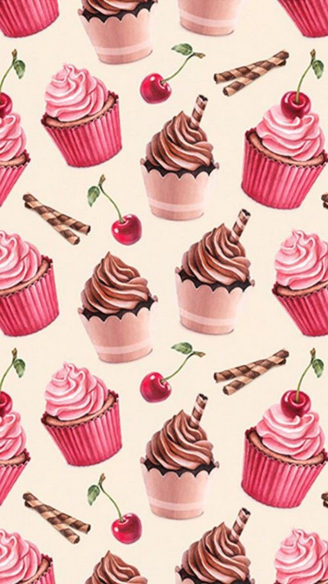 Res: 1080x1920, Android Wallpaper Cherry Cupcake - Best Android Wallpapers