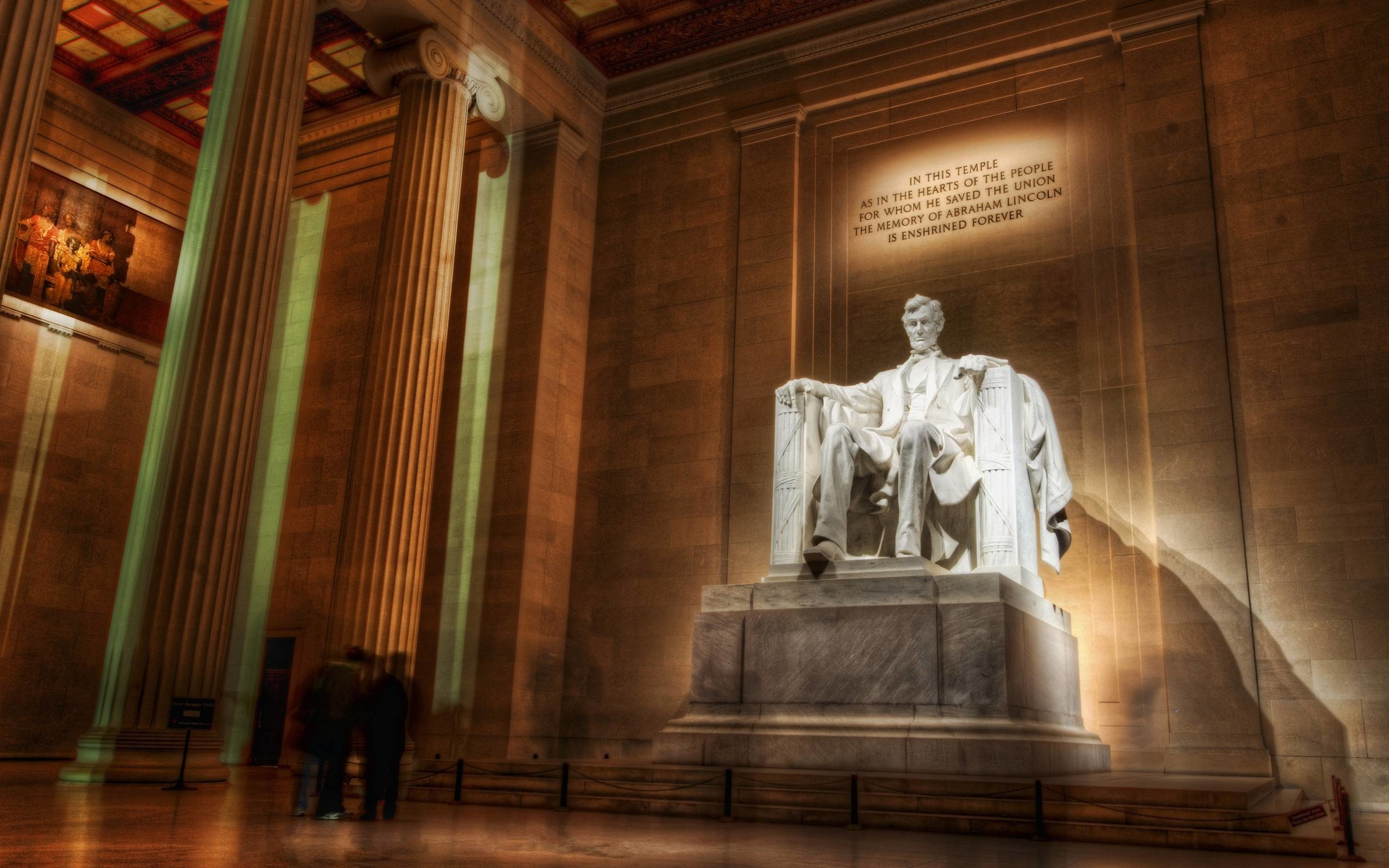 Res: 2560x1600, Trends For > Abraham Lincoln Memorial Wallpaper