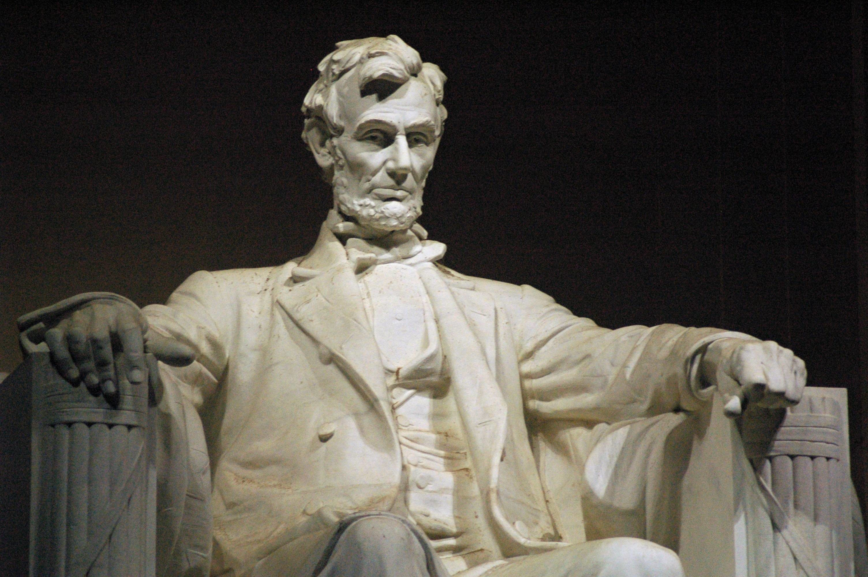 Res: 3008x2000, Lincoln Memorial Statue Wallpapers X