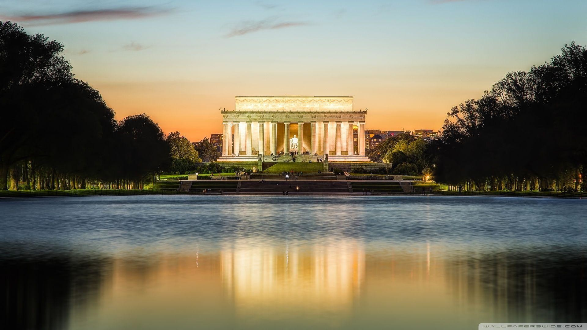 Res: 1920x1080, Lincoln Memorial HD desktop wallpaper : High Definition .