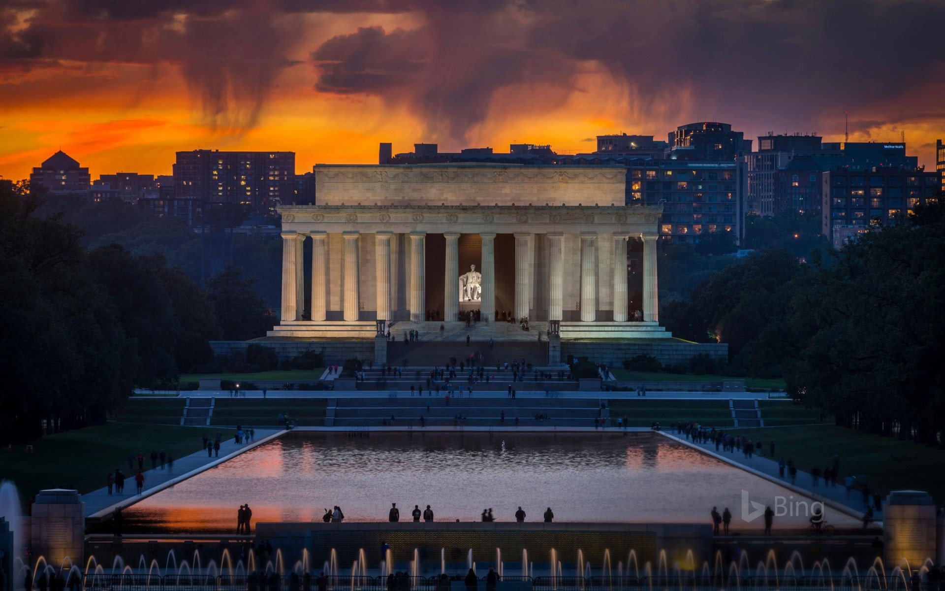 Res: 1920x1200, ... The Lincoln Memorial, Washington, DC (© JG Photography/Alamy)