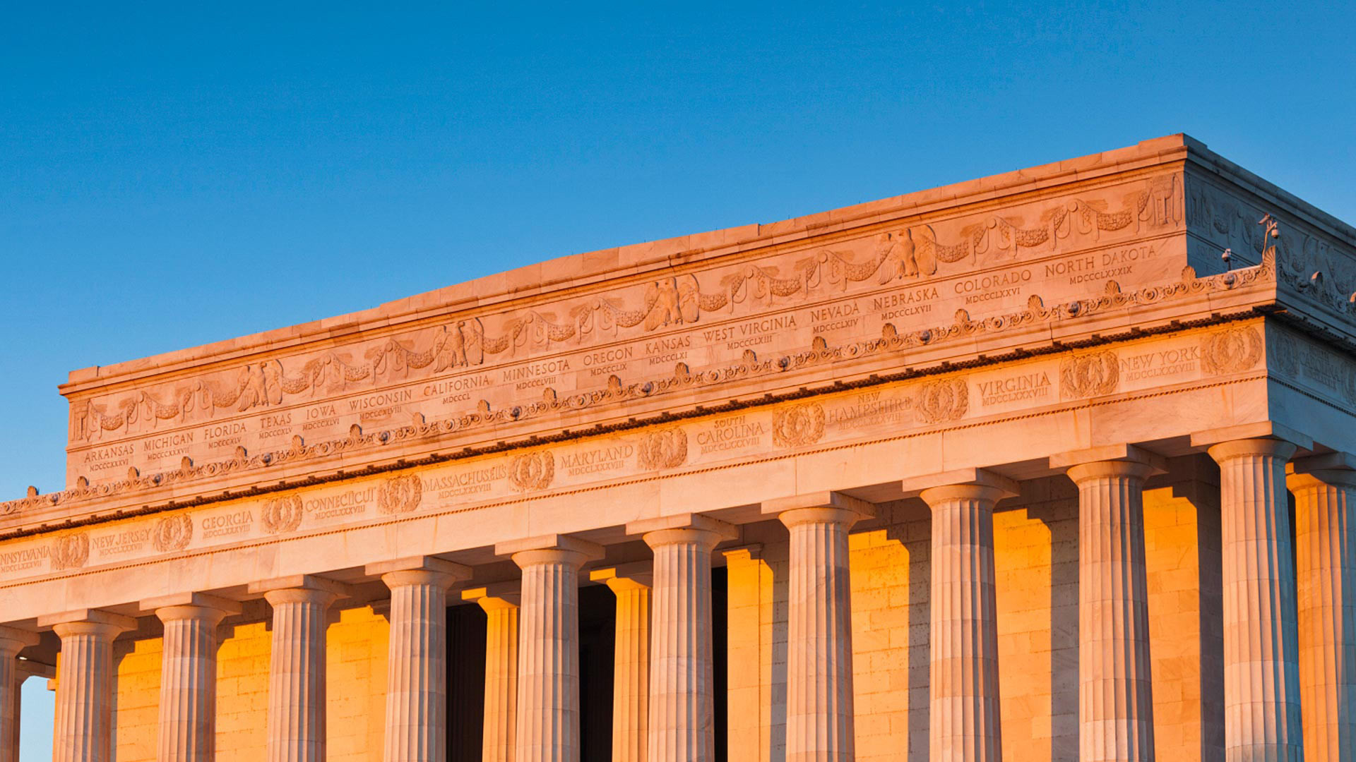 Res: 1920x1080, Best Wallpaper Of The Lincoln Memorial In Washington D.C.
