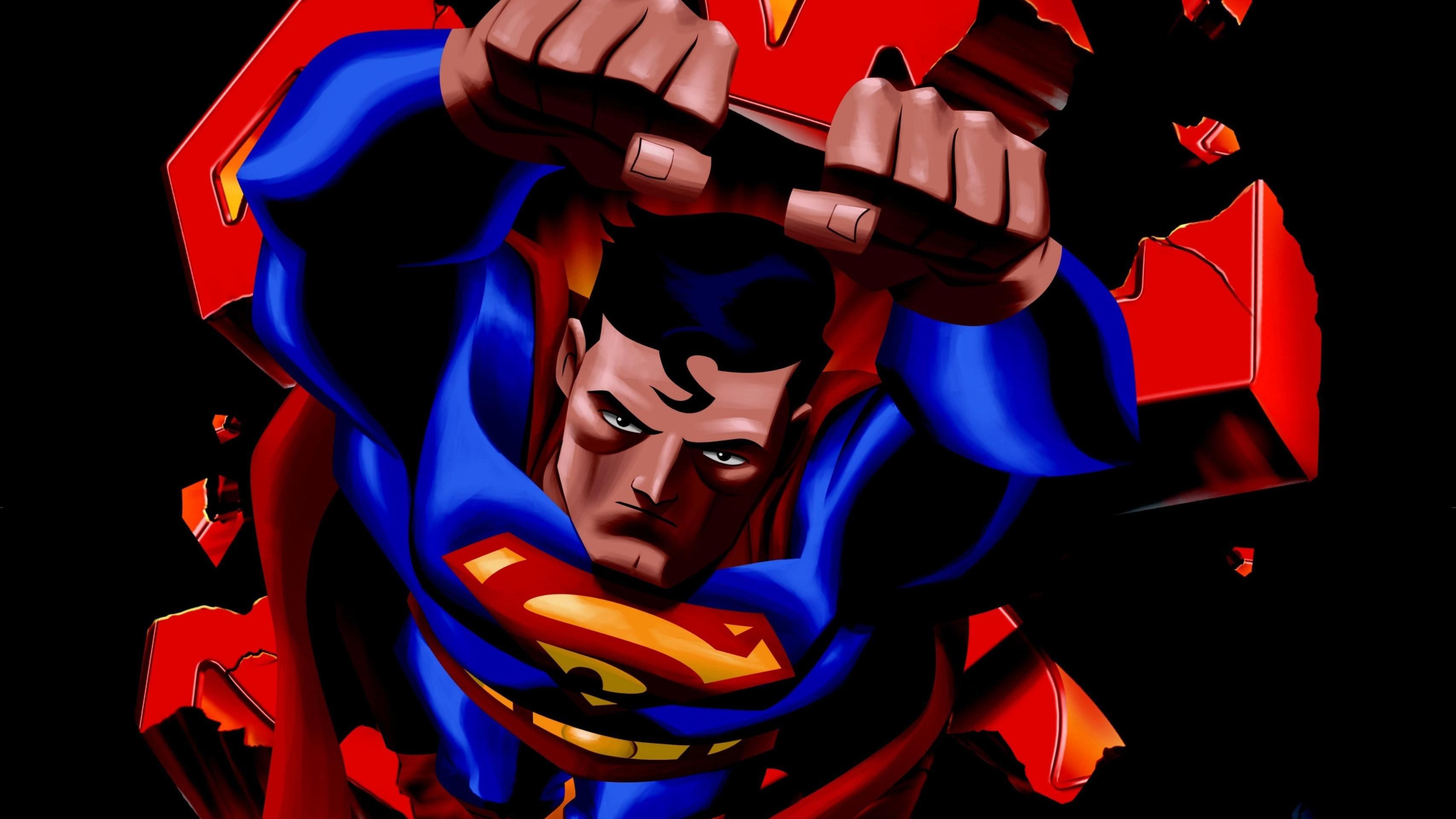 Res: 3413x1920, Superman Doomsday Movie