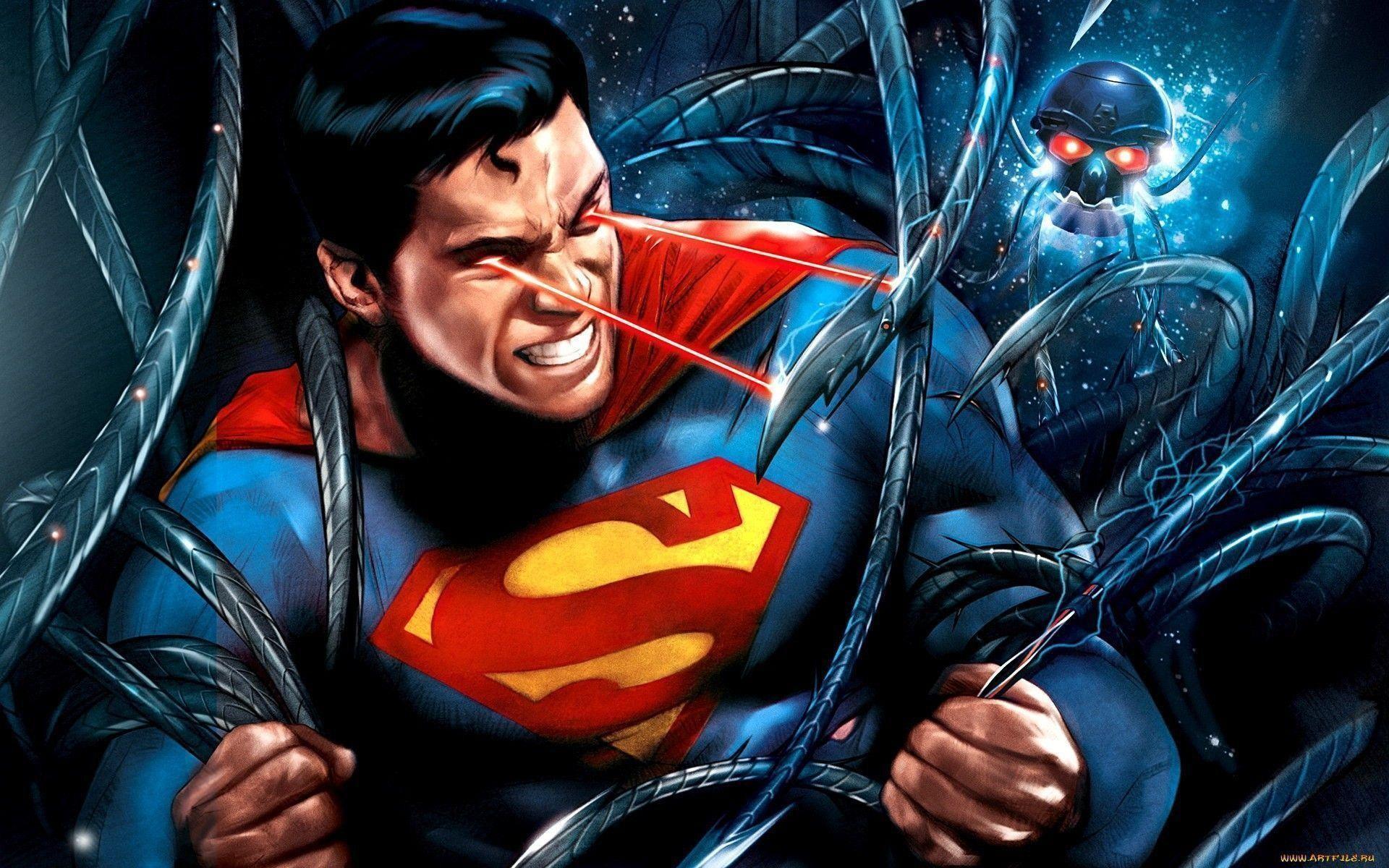 Res: 1920x1200, Superman Doomsday Wallpaper